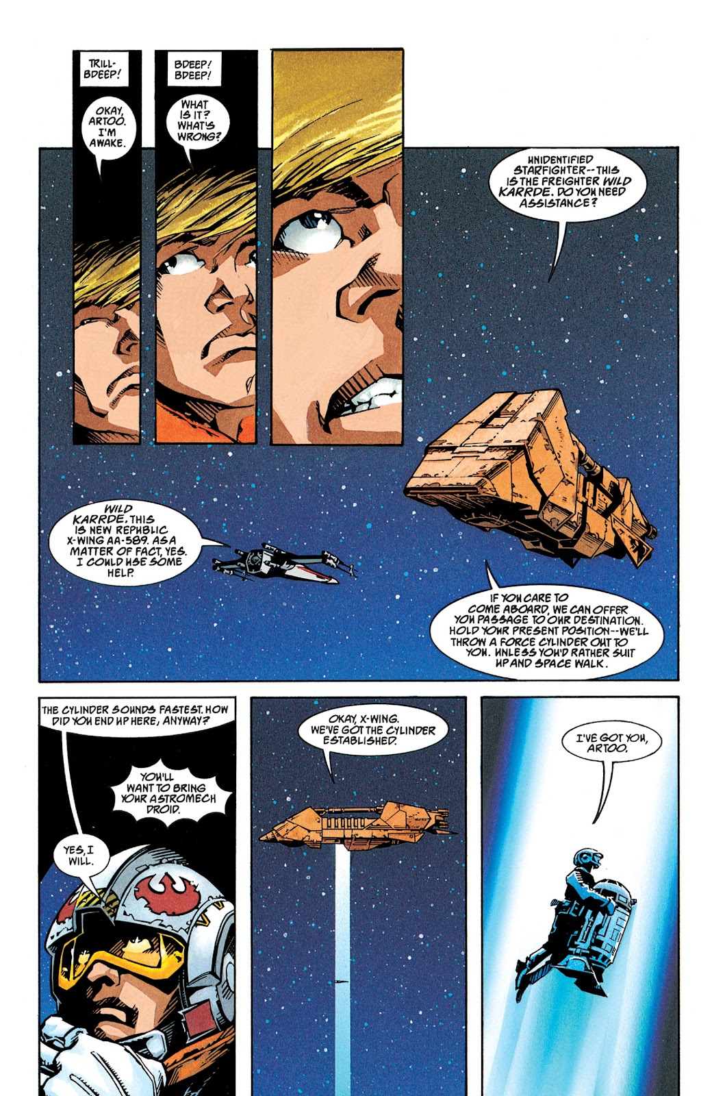 Read online Star Wars Legends: The New Republic - Epic Collection comic -  Issue # TPB 4 (Part 1) - 76