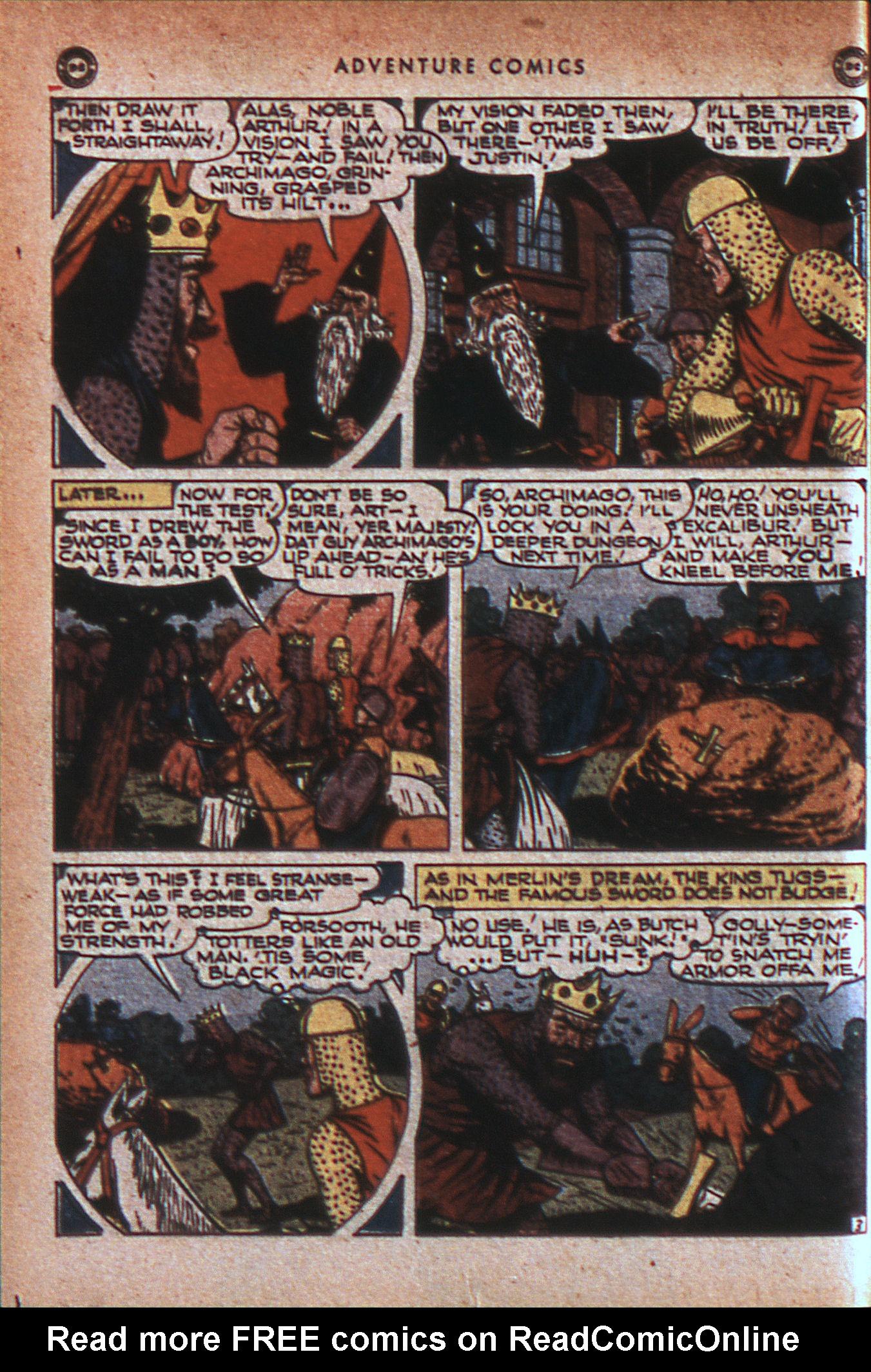Read online Adventure Comics (1938) comic -  Issue #124 - 17