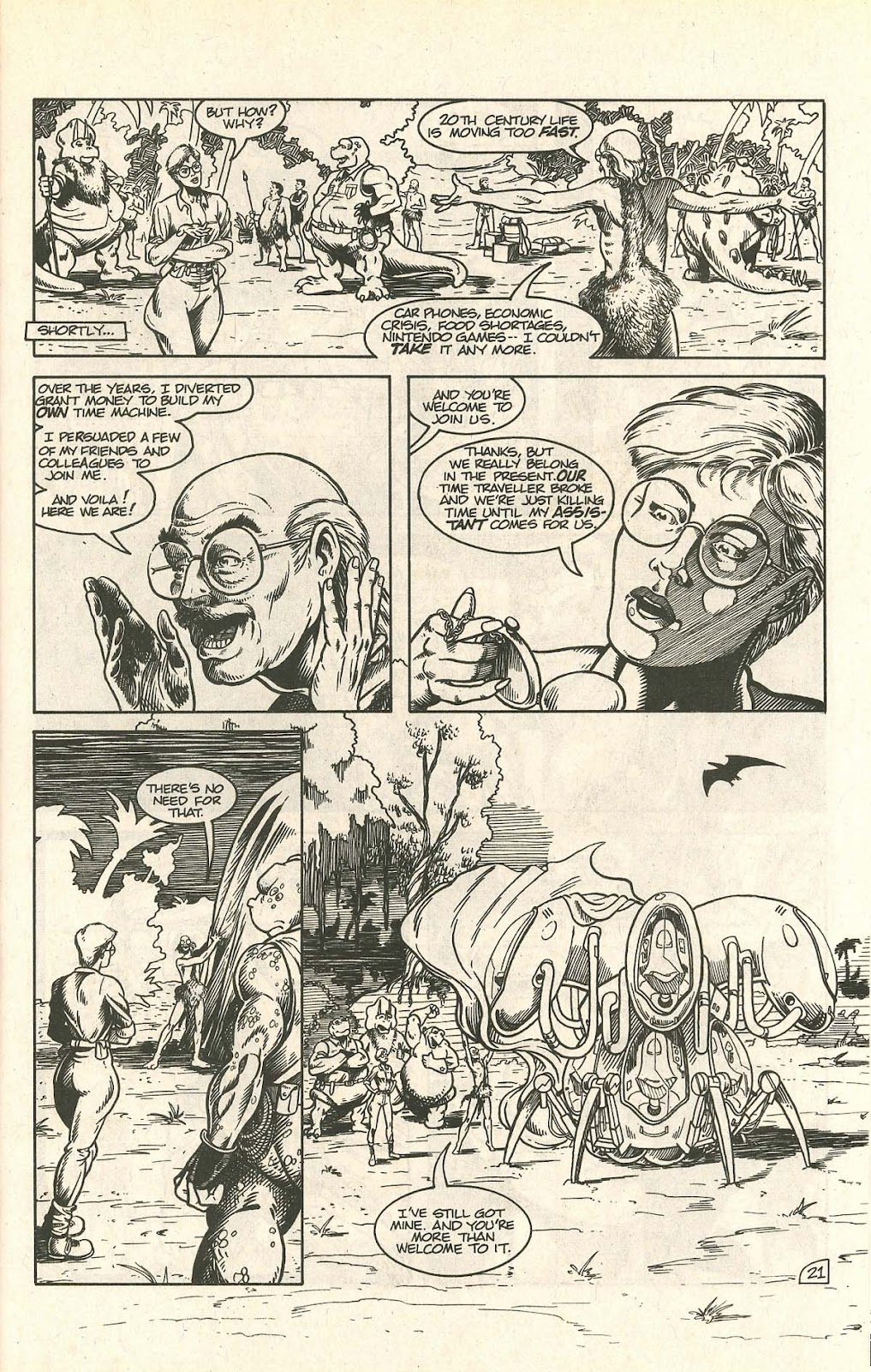 Dinosaurs For Hire (1988) issue 9 - Page 27