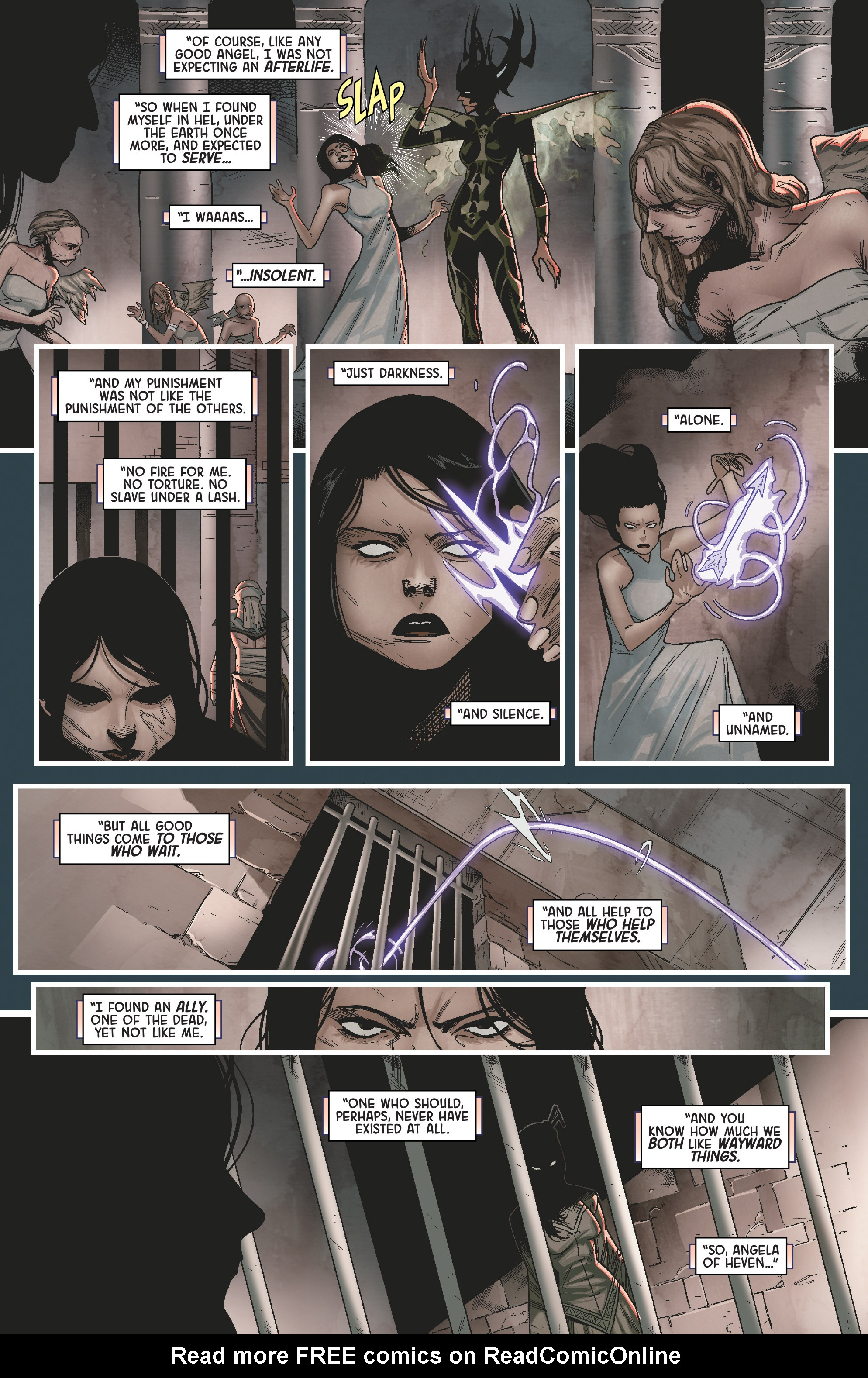 Read online Angela: Queen Of Hel comic -  Issue #2 - 21