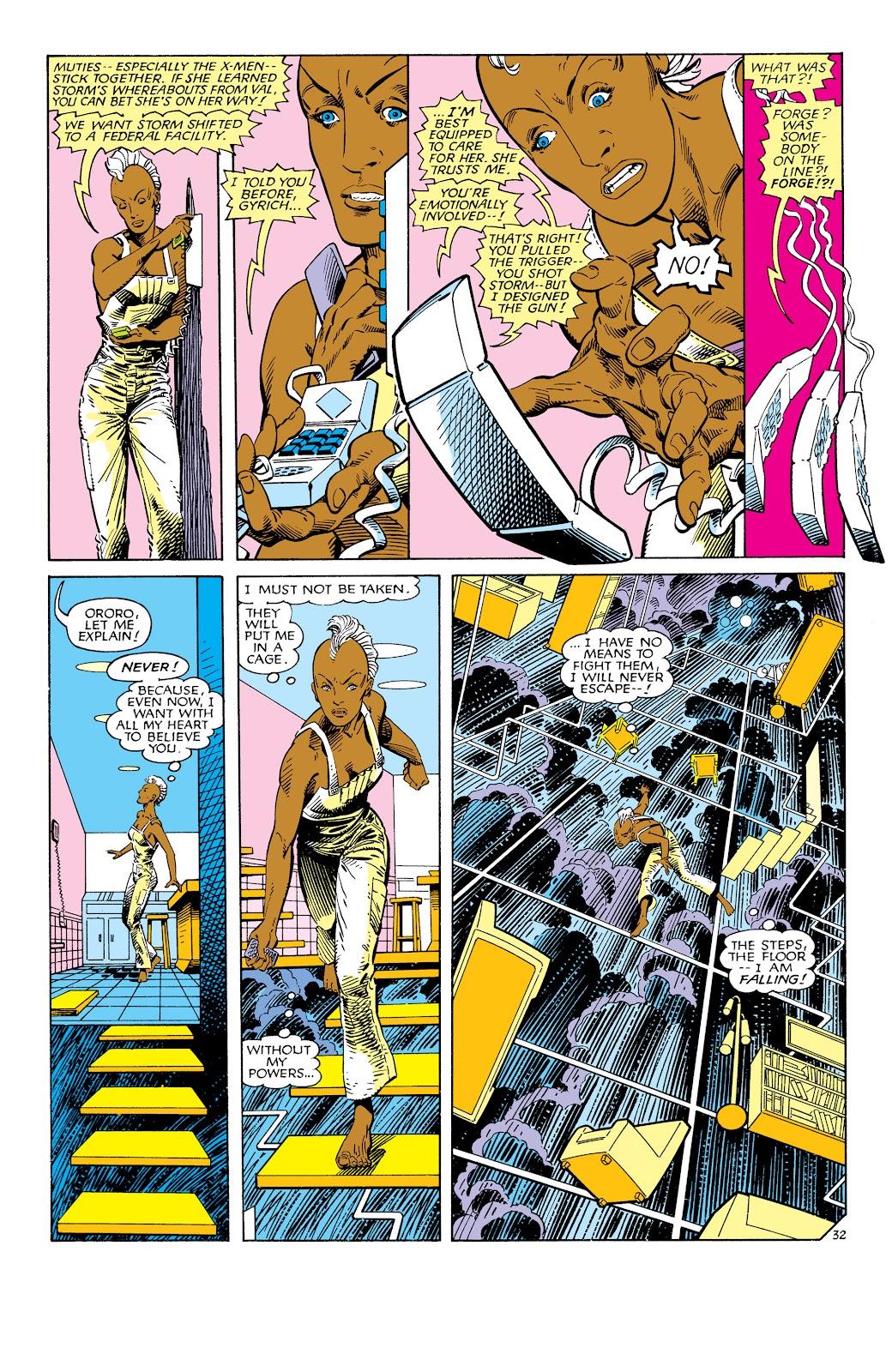 Uncanny X-Men (1963) issue 186 - Page 33