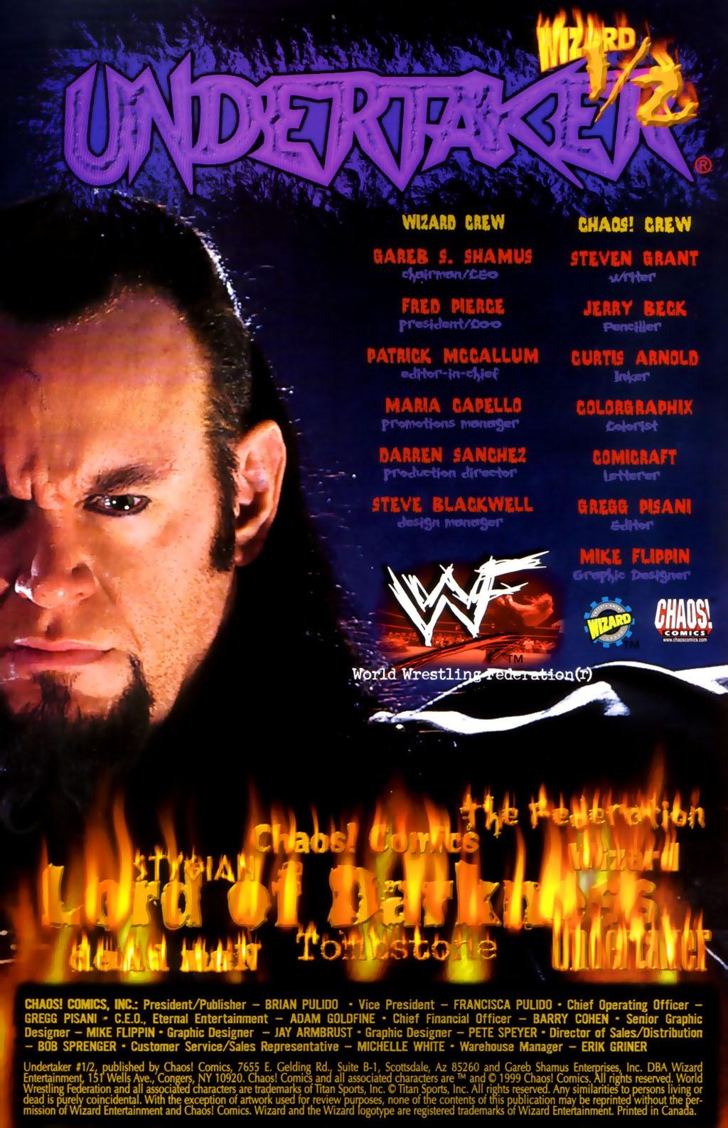 Read online Undertaker (1999) comic -  Issue #0.5 - 2