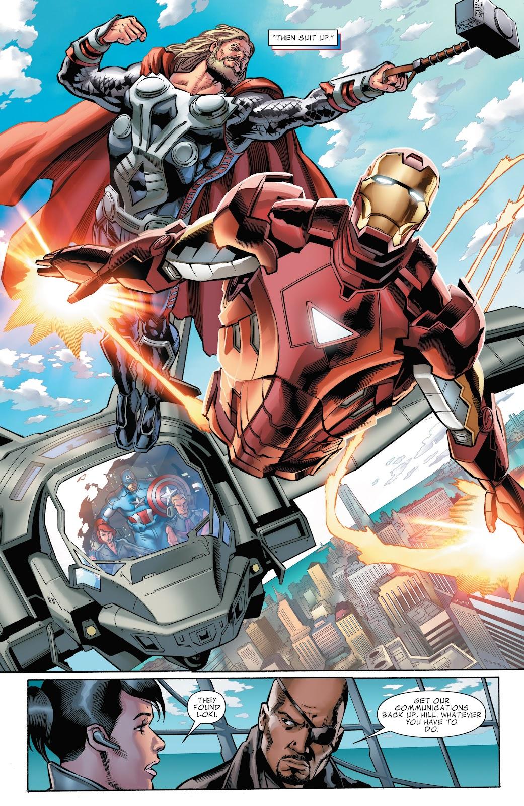 Read online Marvel's The Avengers comic -  Issue #2 - 8