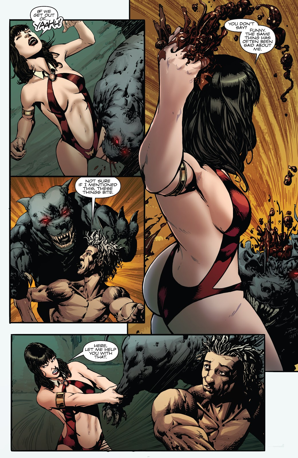 Read online Vampirella Strikes comic -  Issue #4 - 9