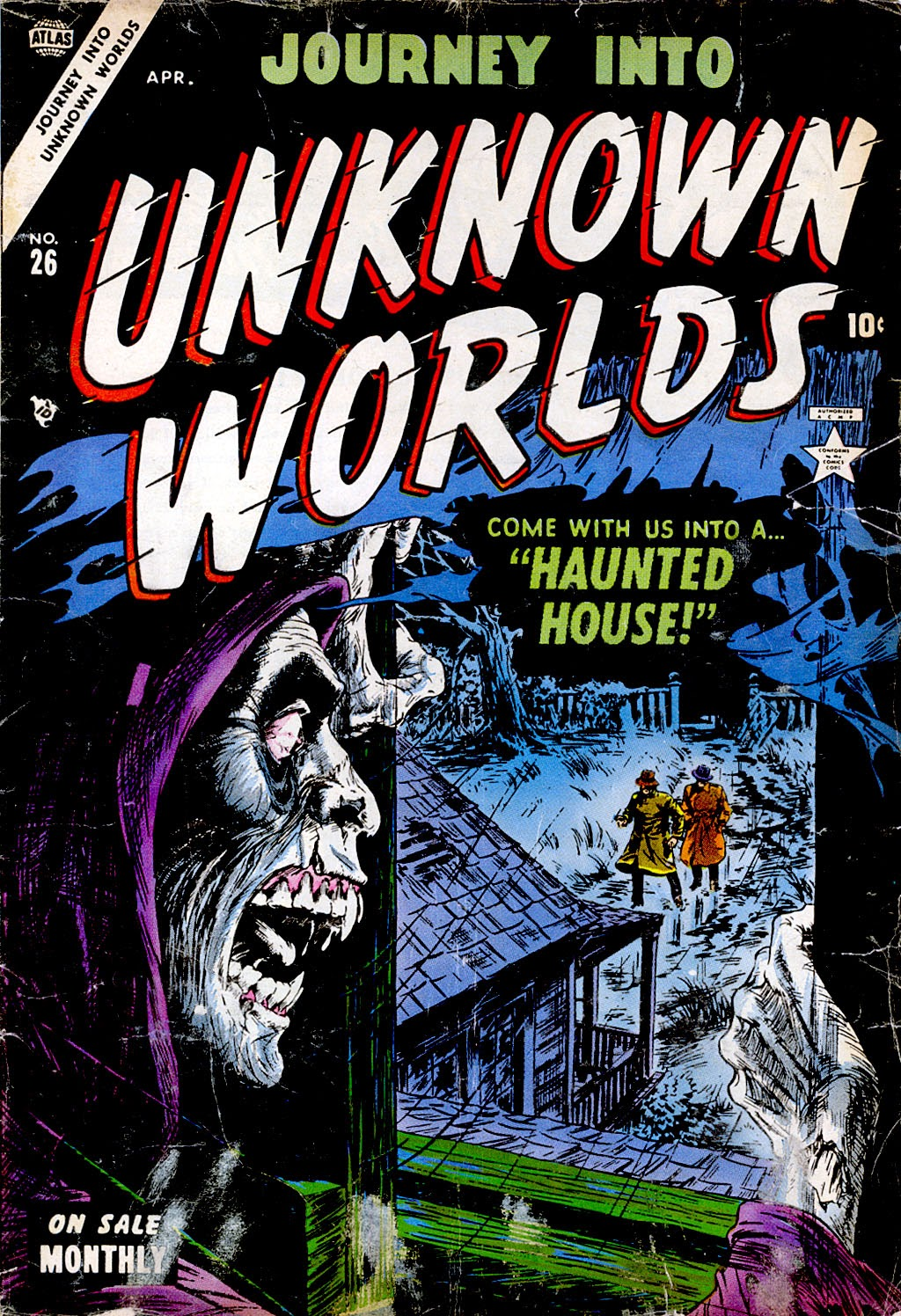 Journey Into Unknown Worlds (1950) issue 26 - Page 1