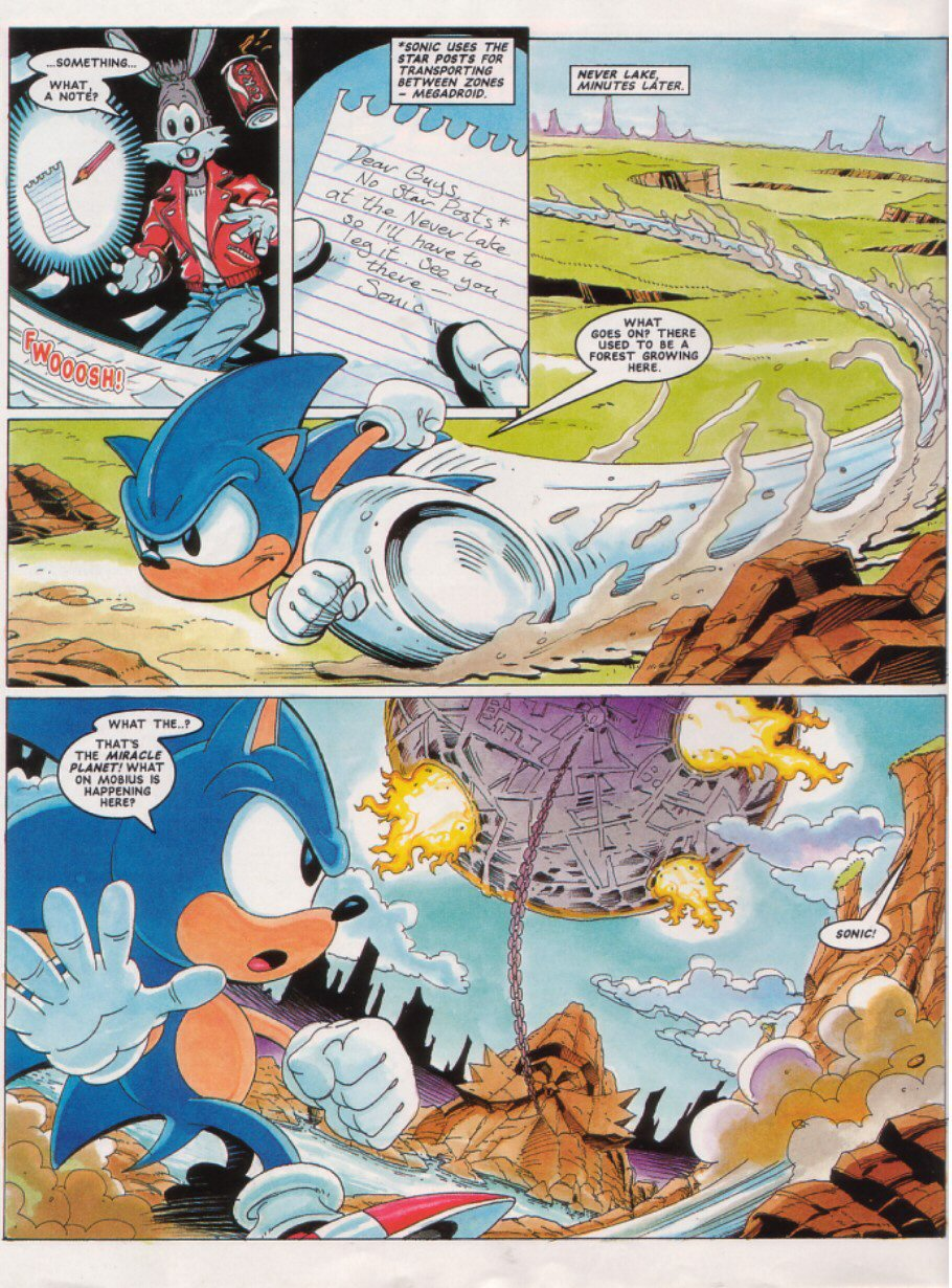 Read online Sonic the Comic comic -  Issue #26 - 4