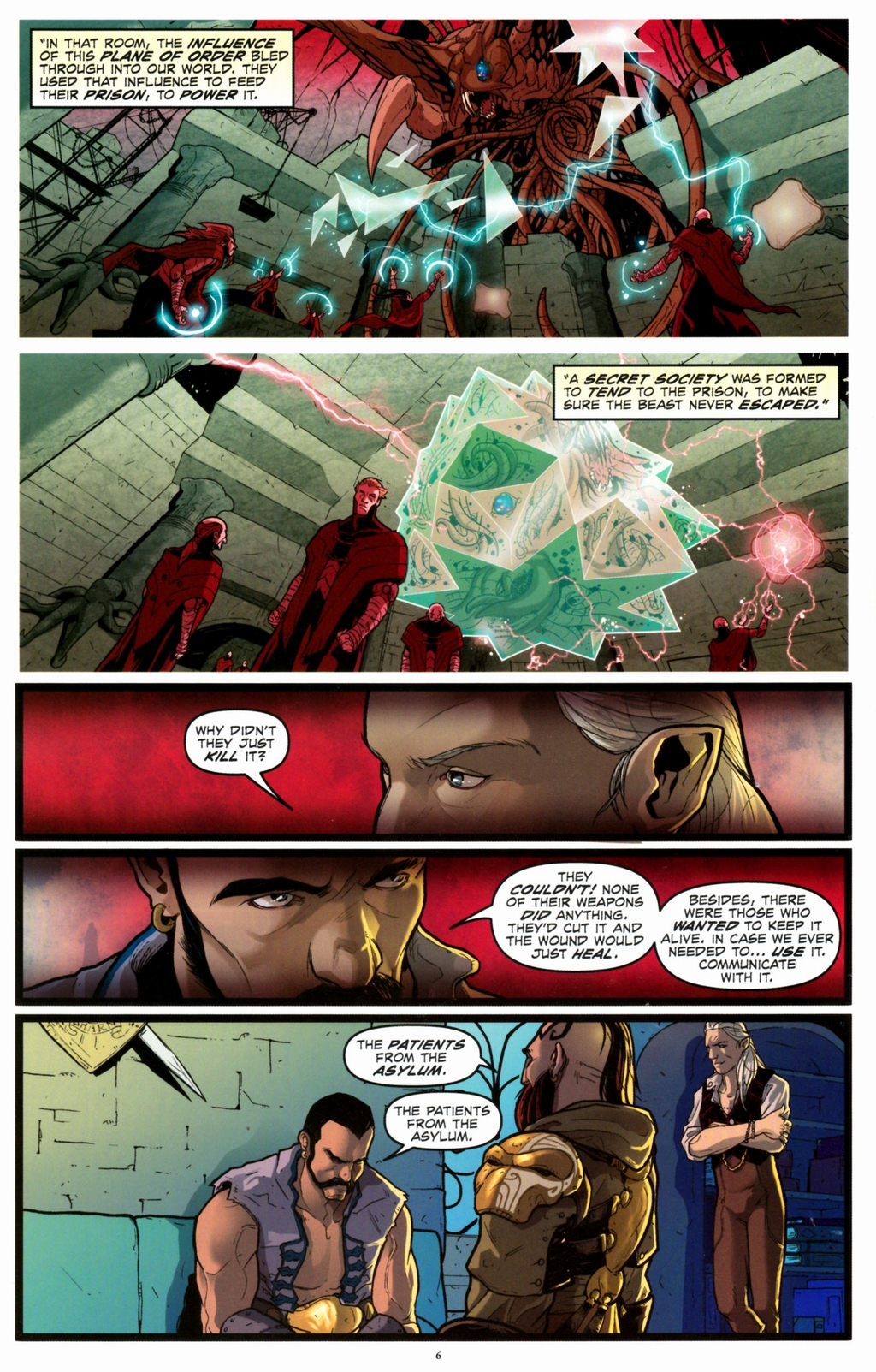 Read online Infestation 2: Dungeons & Dragons comic -  Issue #2 - 8