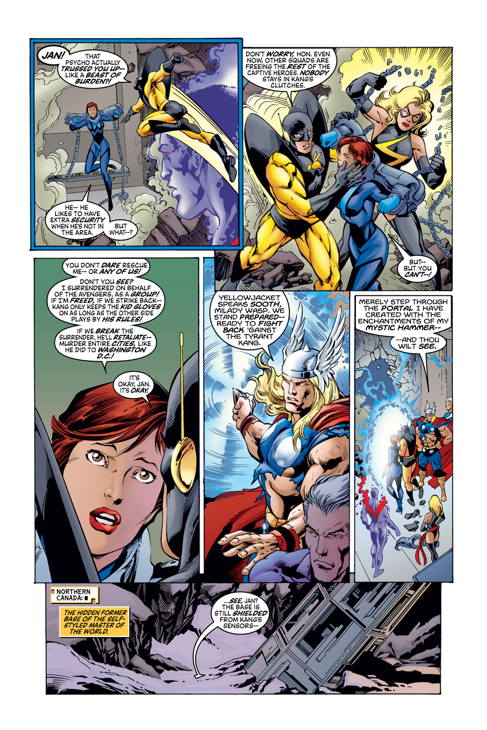 Read online Avengers (1998) comic -  Issue #52 - 5
