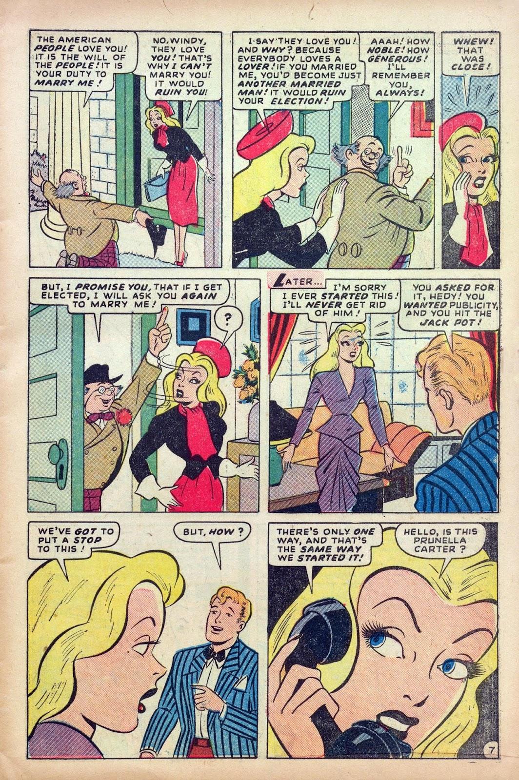 Hedy De Vine Comics issue 31 - Page 9