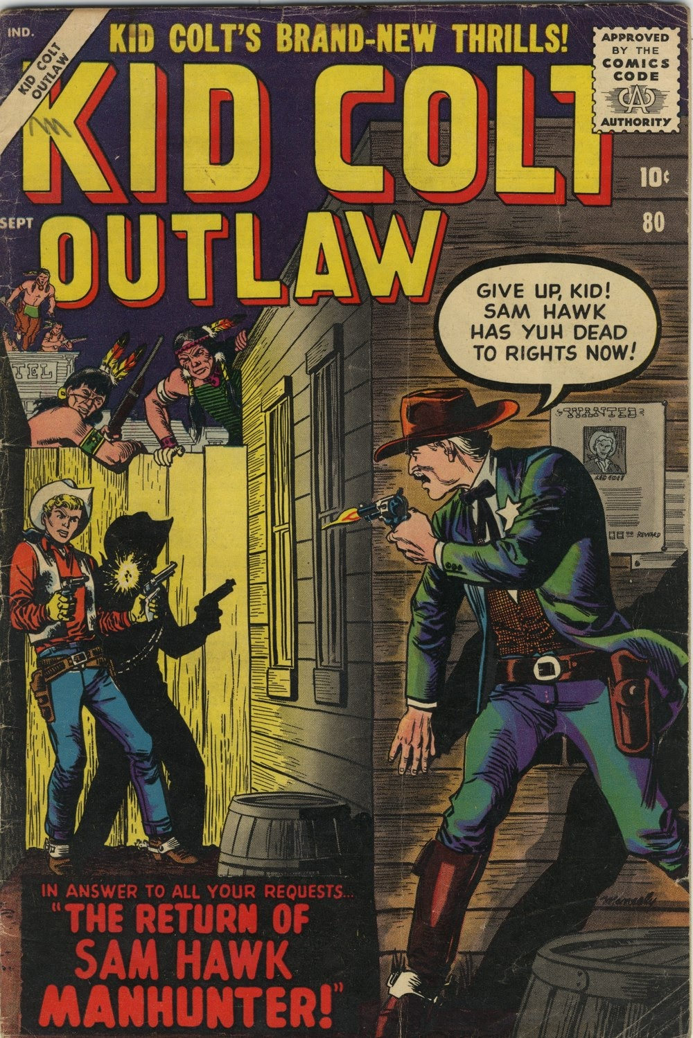 Kid Colt Outlaw issue 80 - Page 1