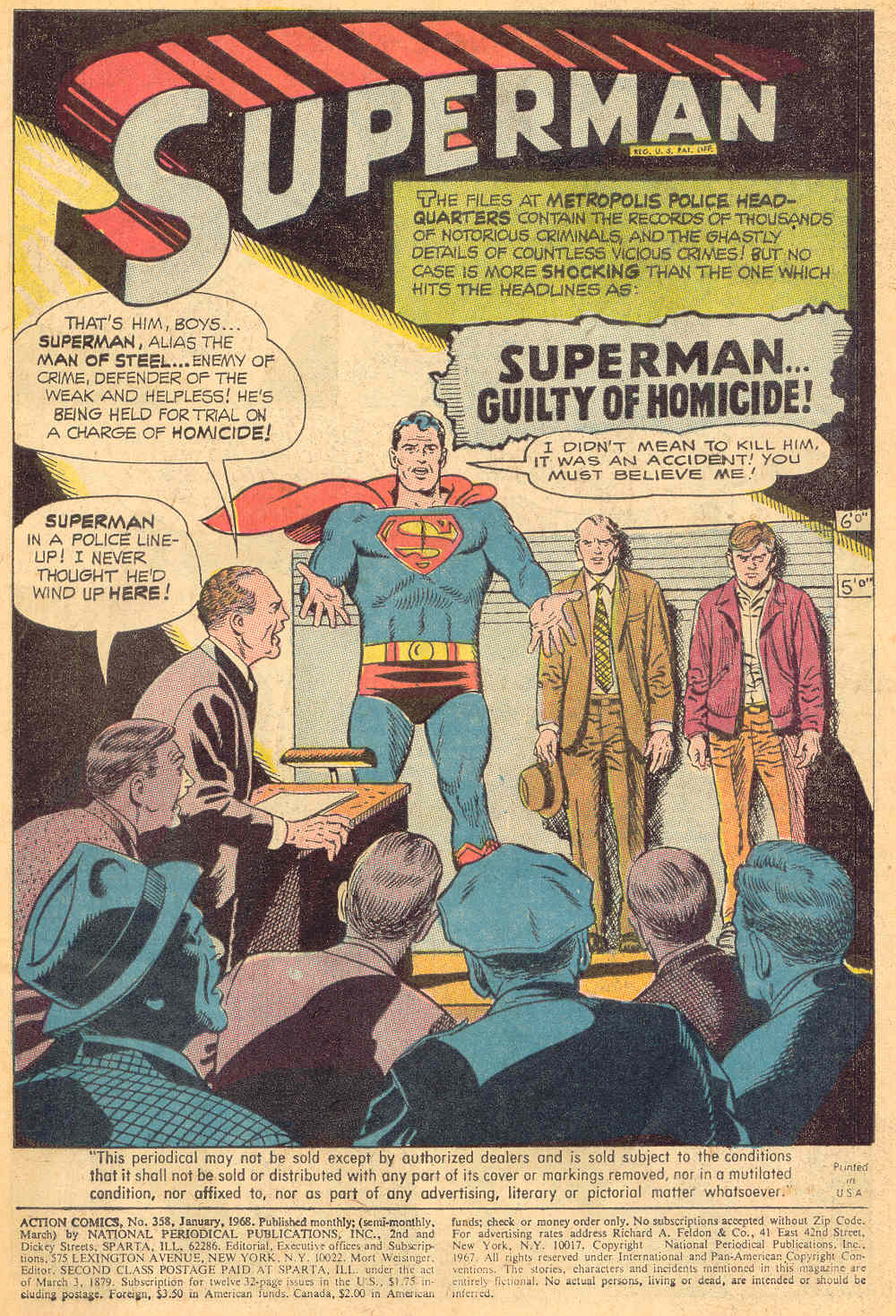 Read online Action Comics (1938) comic -  Issue #358 - 3