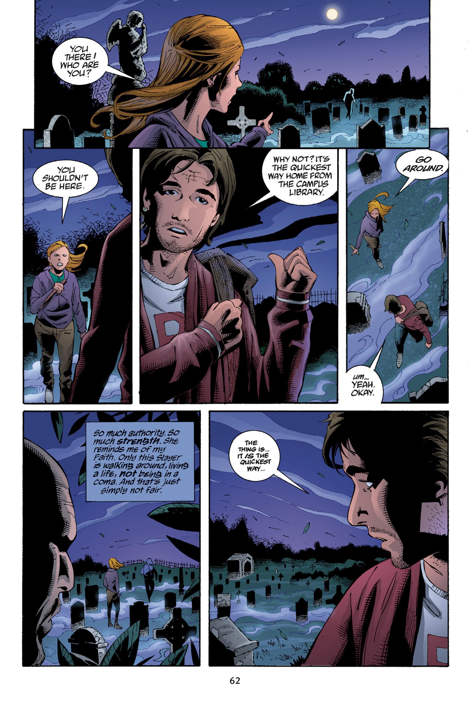 Read online Buffy the Vampire Slayer: Omnibus comic -  Issue # TPB 5 - 63