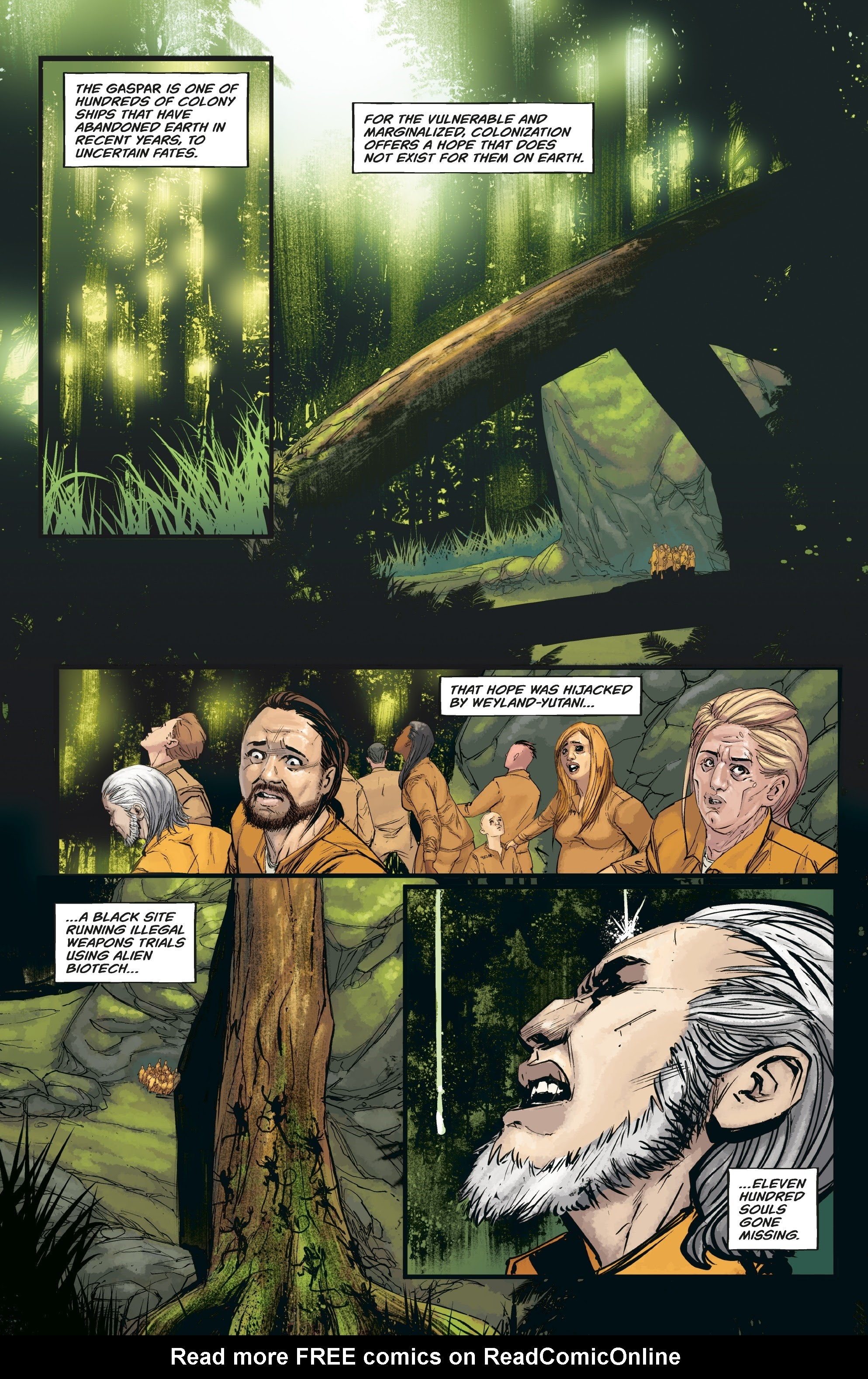 Aliens: Resistance issue 3 - Page 10