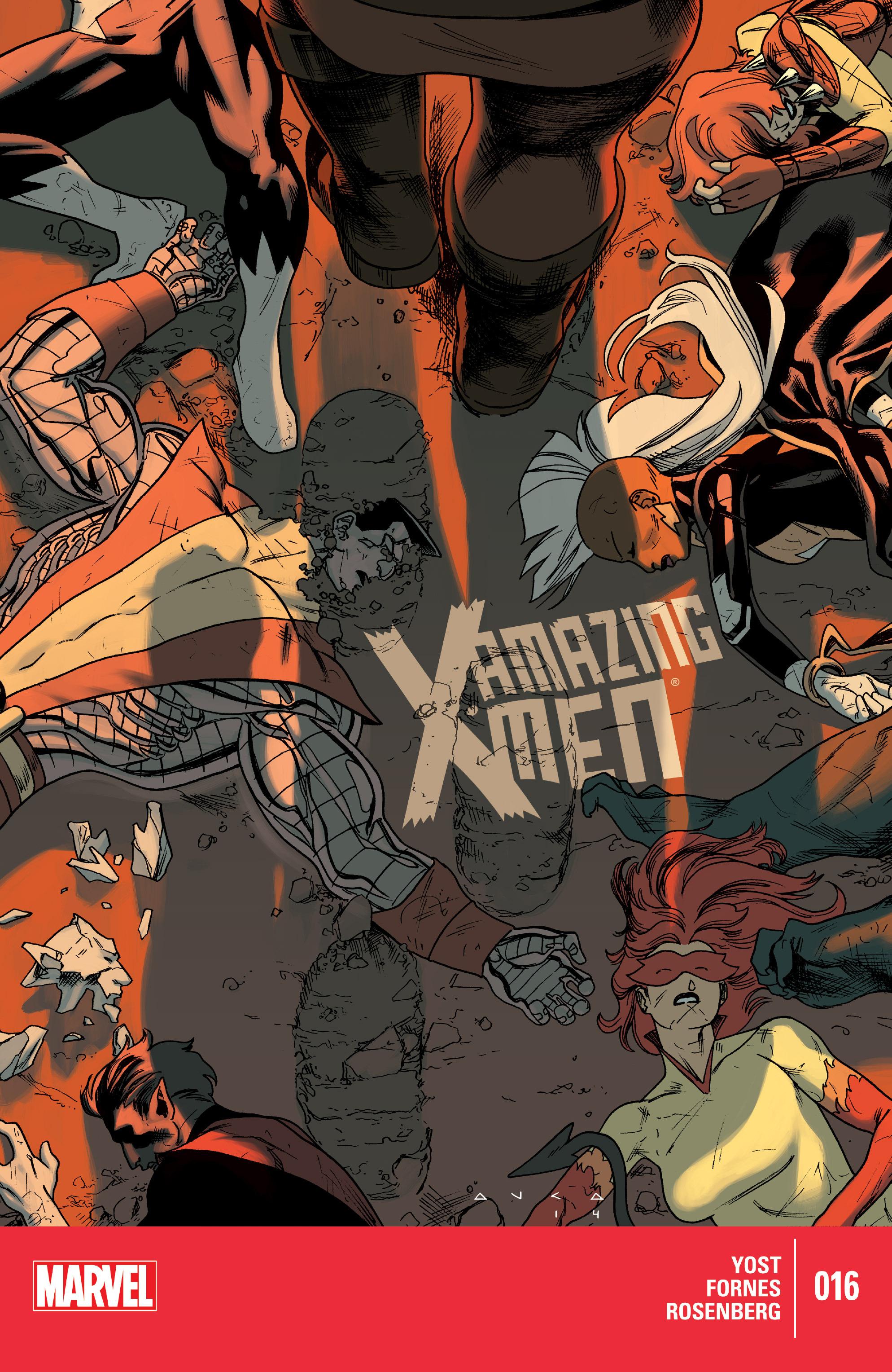 Amazing X-Men (2014) 16 Page 1