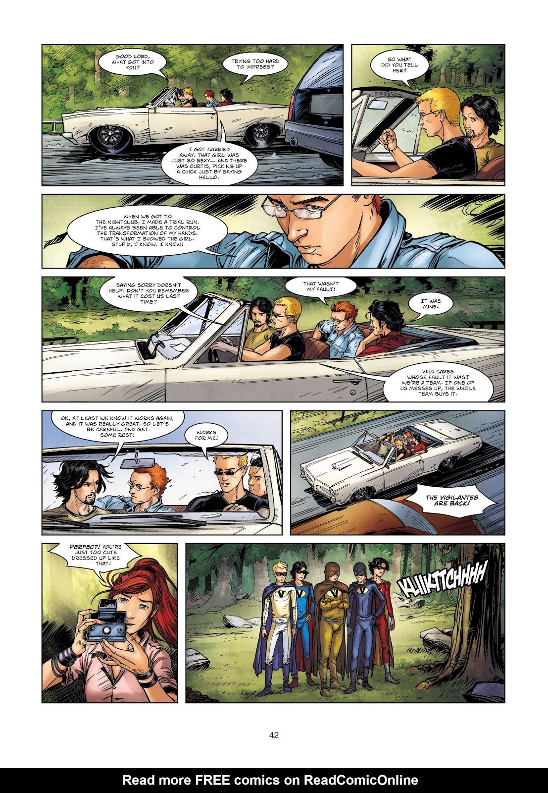 Read online Vigilantes comic -  Issue #2 - 42