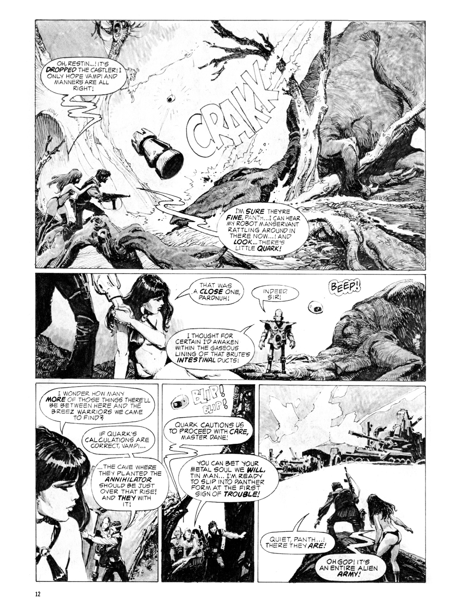 Read online Eerie Archives comic -  Issue # TPB 20 - 12