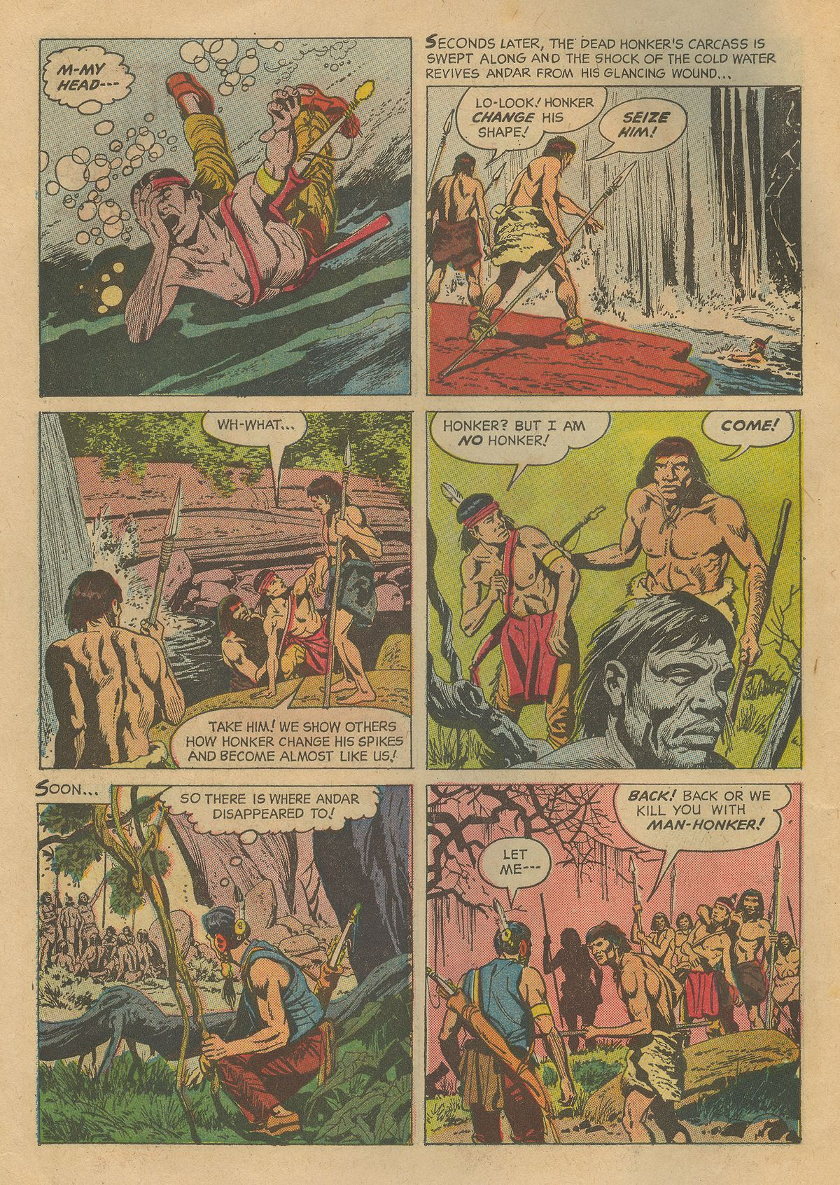 Read online Turok, Son of Stone comic -  Issue #54 - 6