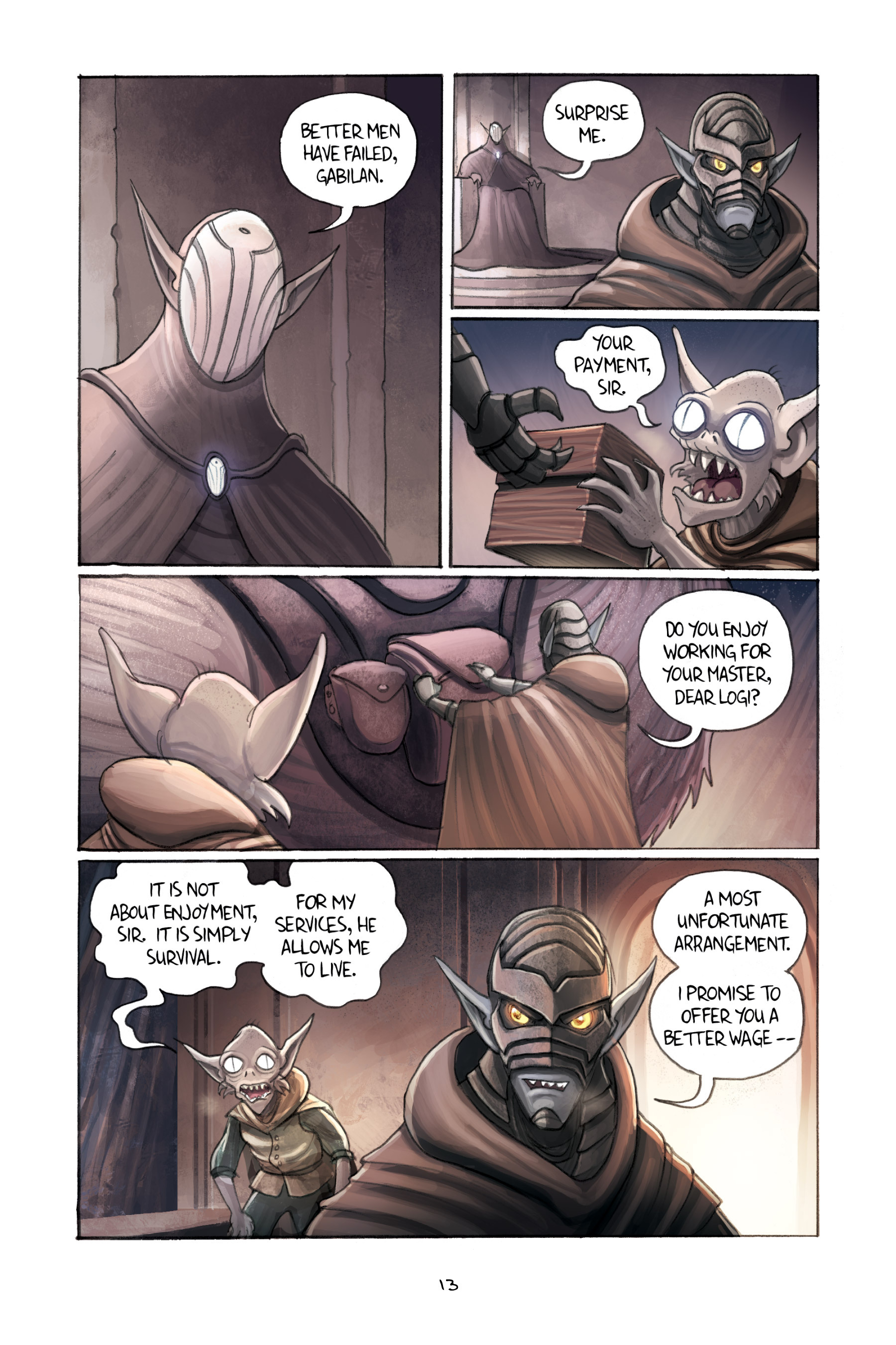 Read online Amulet comic -  Issue #3 - 15
