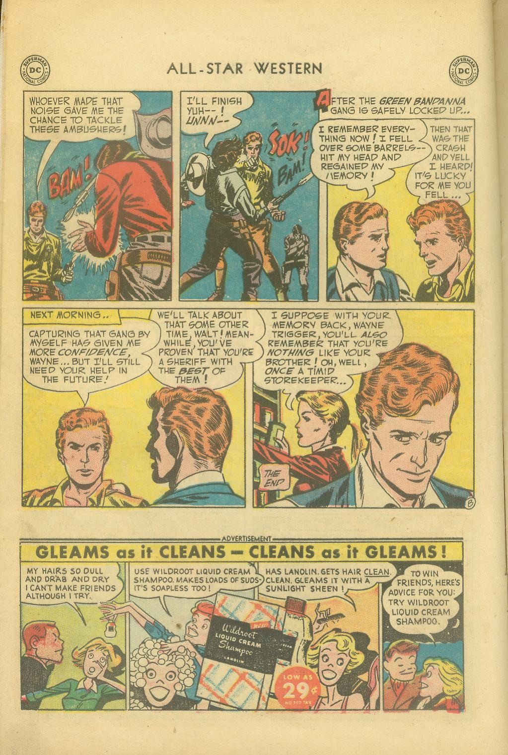 Read online All-Star Western (1951) comic -  Issue #65 - 10