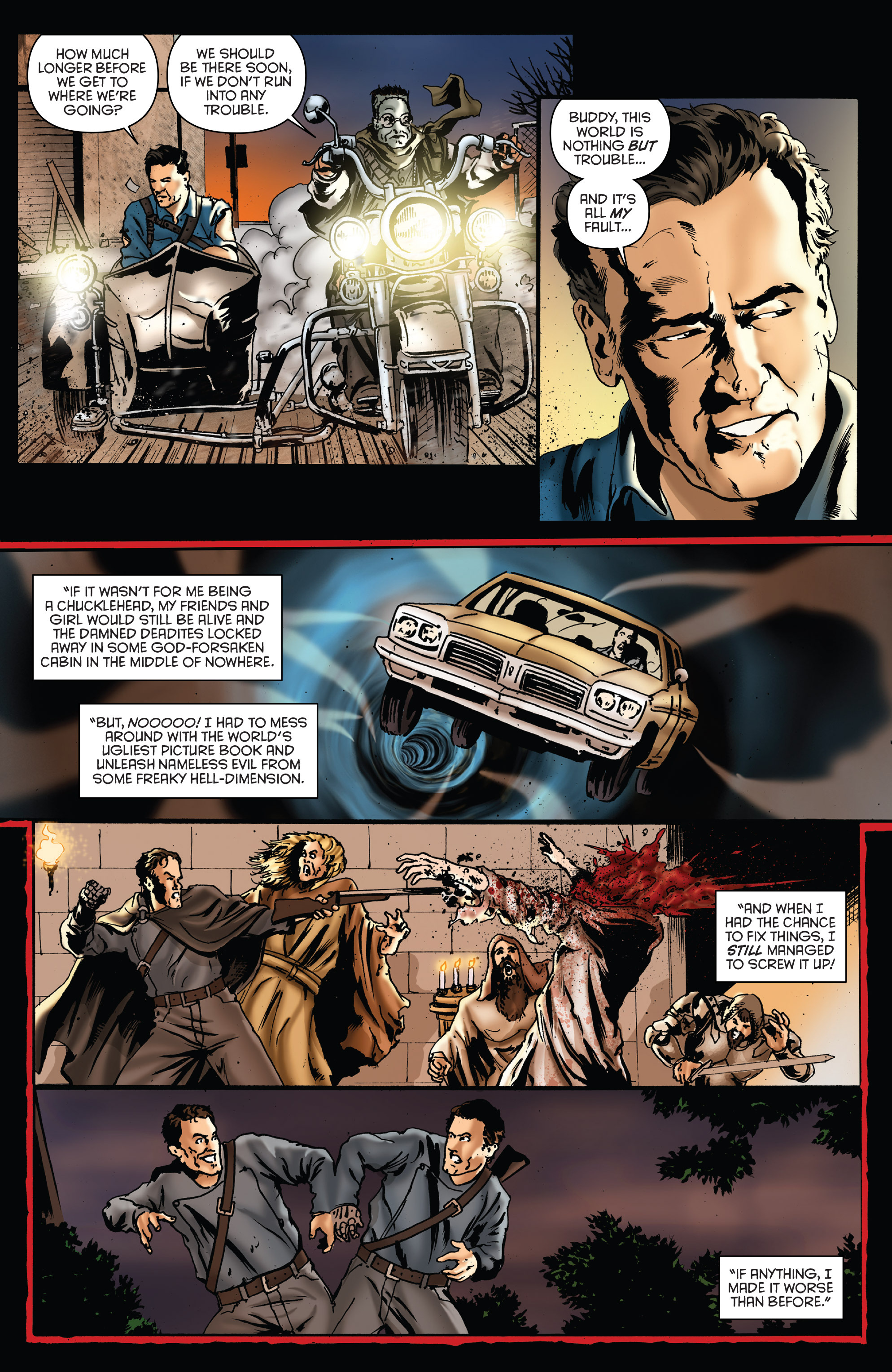 Read online Army of Darkness: Furious Road comic -  Issue #5 - 11