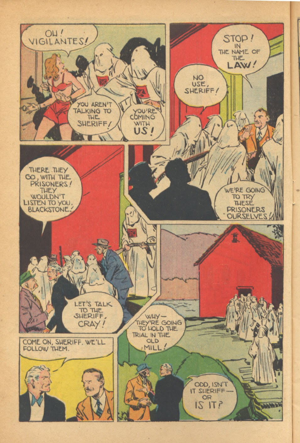 Read online Super-Magician Comics comic -  Issue #41 - 12