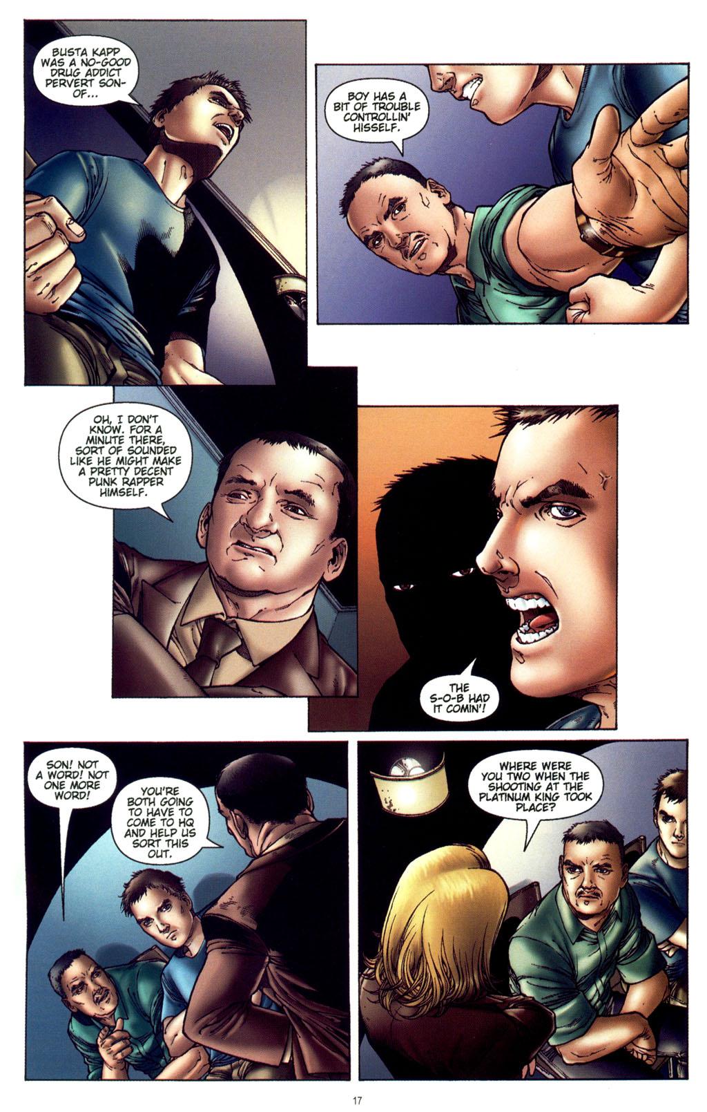 Read online CSI: Crime Scene Investigation: Bad Rap comic -  Issue #4 - 18