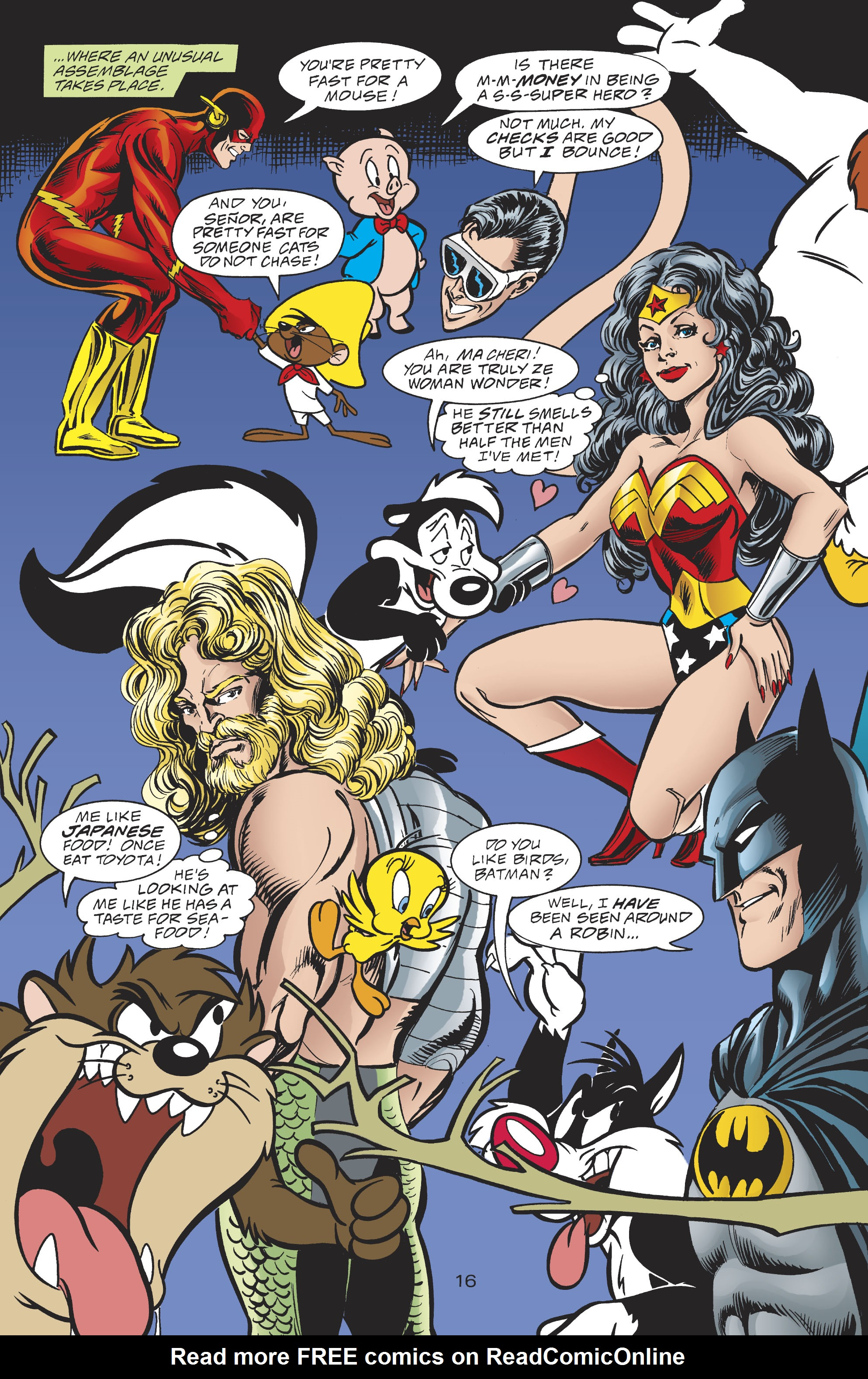 Read online DC/Looney Tunes 100-Page Super Spectacular comic -  Issue # Full - 65