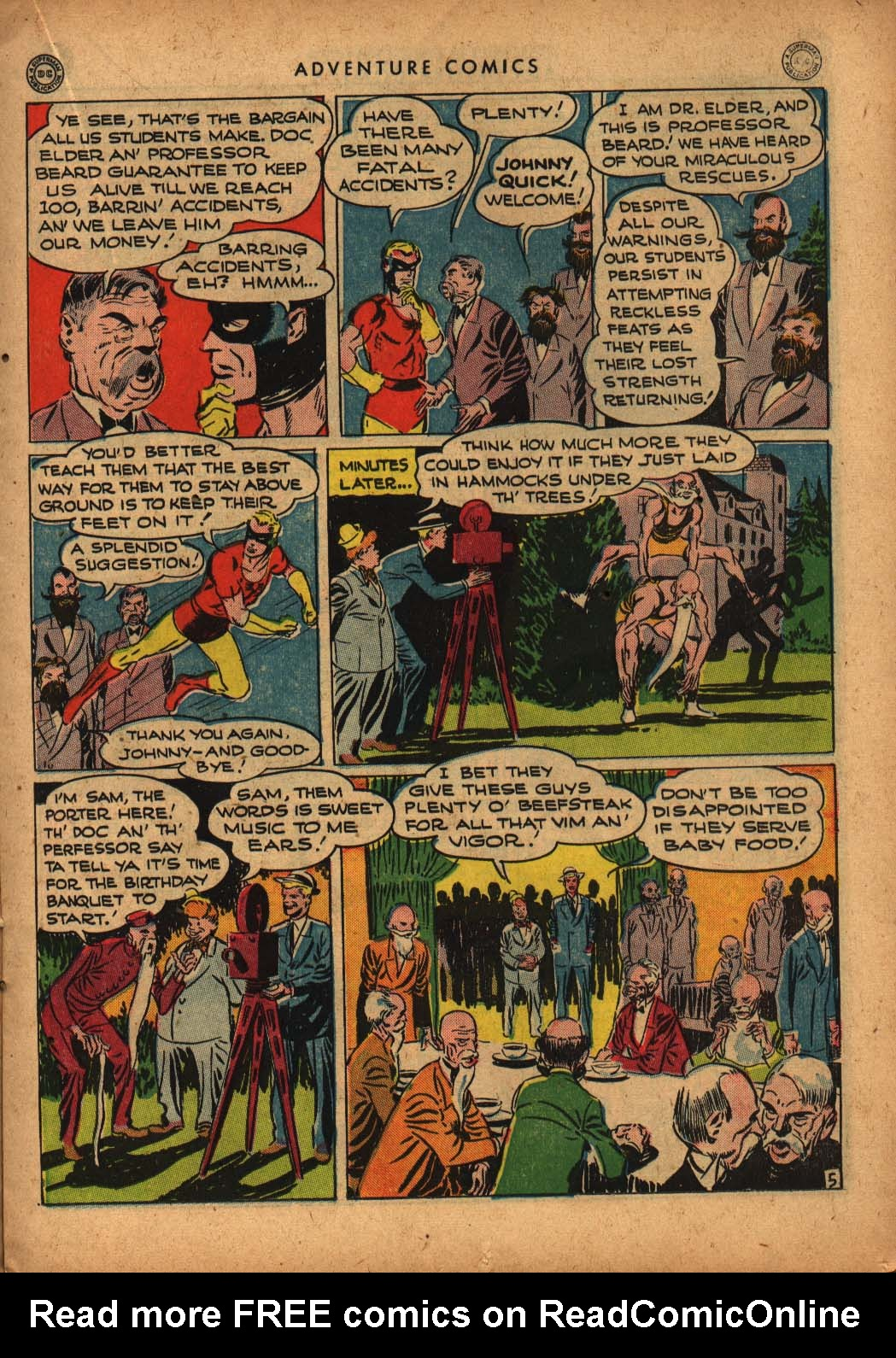 Read online Adventure Comics (1938) comic -  Issue #109 - 23