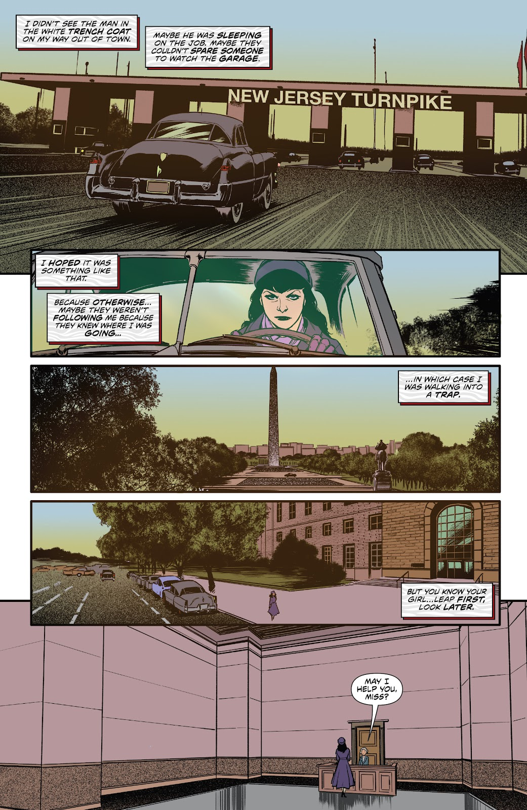 Read online Bettie Page: Unbound comic -  Issue #6 - 18