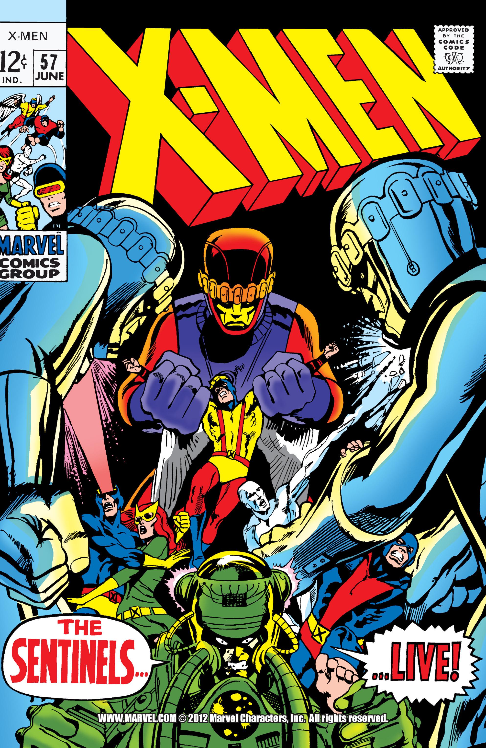 Uncanny X-Men (1963) 57 Page 0