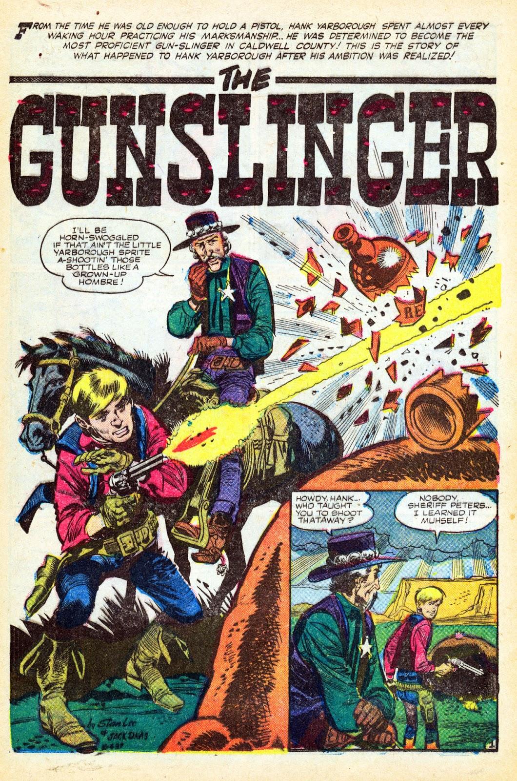 Gunsmoke Western issue 37 - Page 21