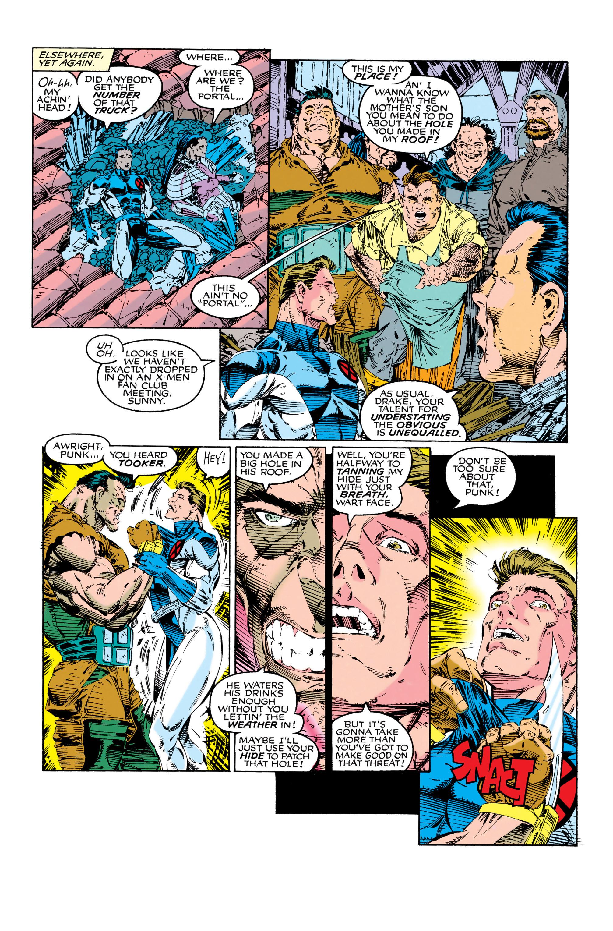 Read online Uncanny X-Men (1963) comic -  Issue #285 - 12