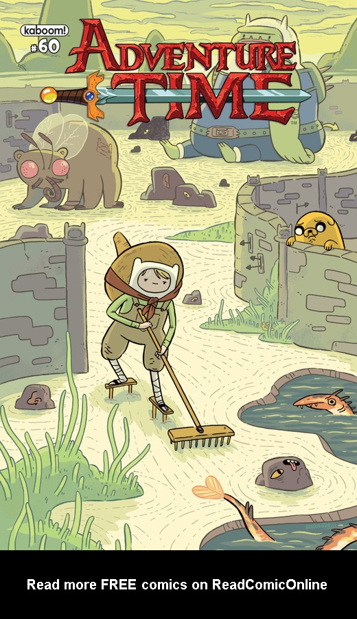 Read online Adventure Time comic -  Issue #60 - 1