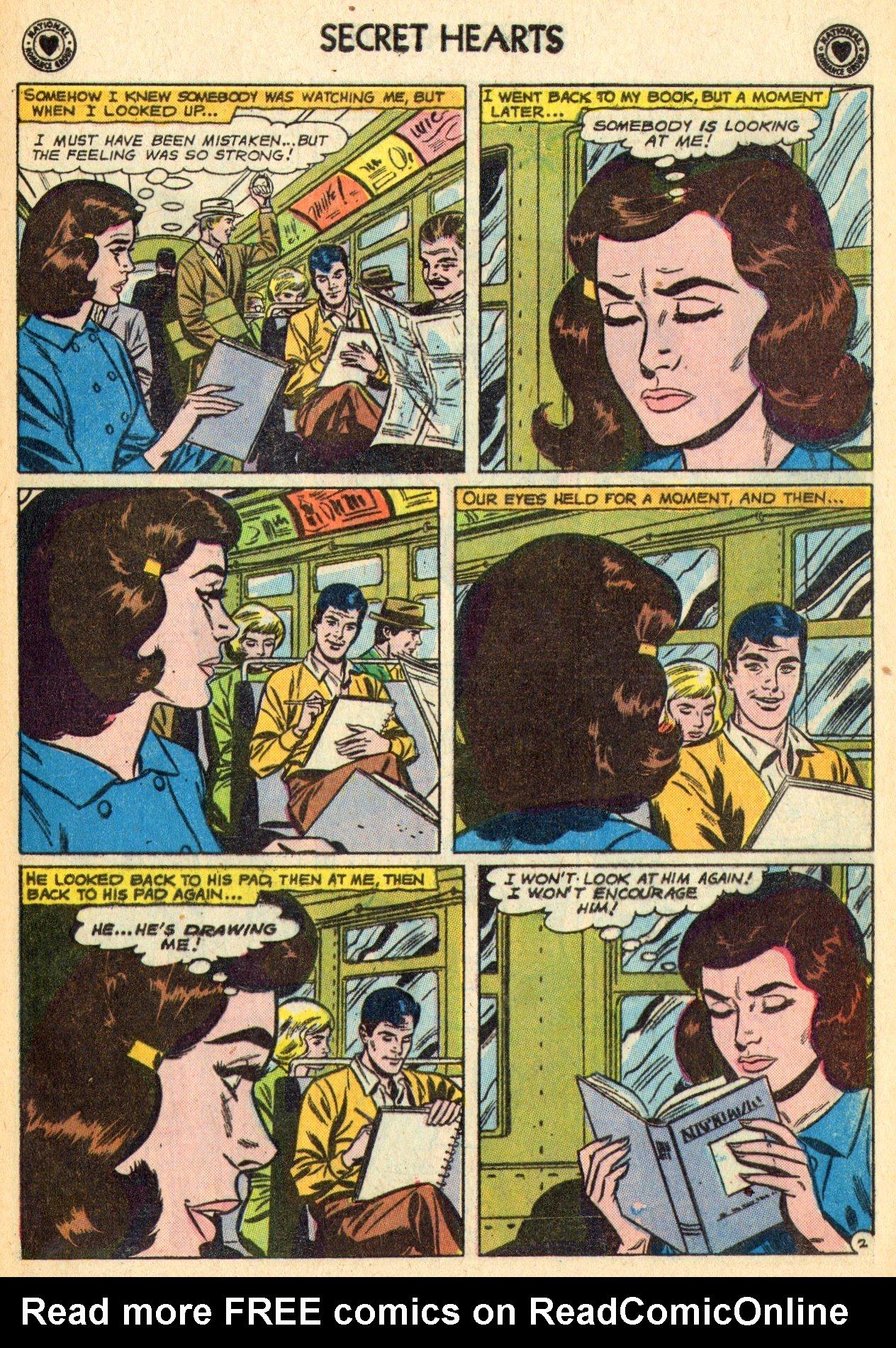 Read online Secret Hearts comic -  Issue #70 - 13