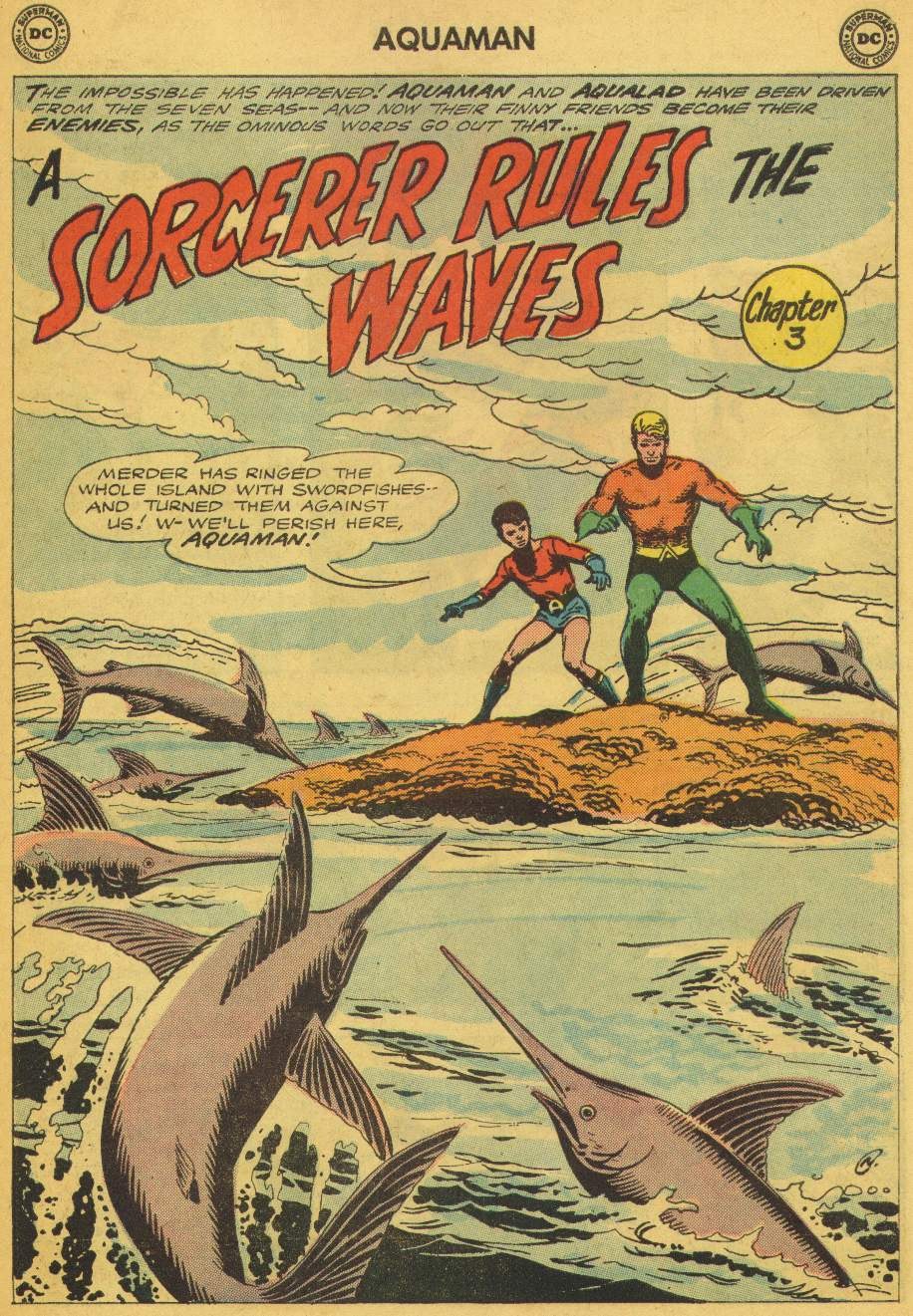 Read online Aquaman (1962) comic -  Issue #5 - 23