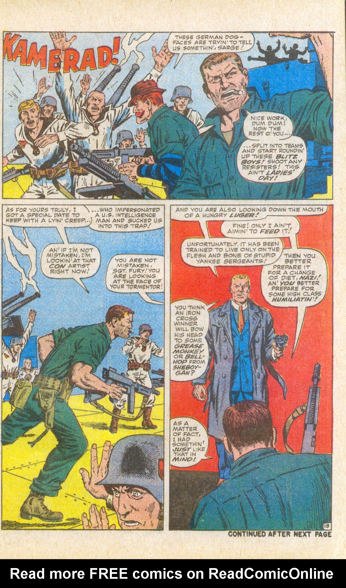Read online Sgt. Fury comic -  Issue #58 - 25