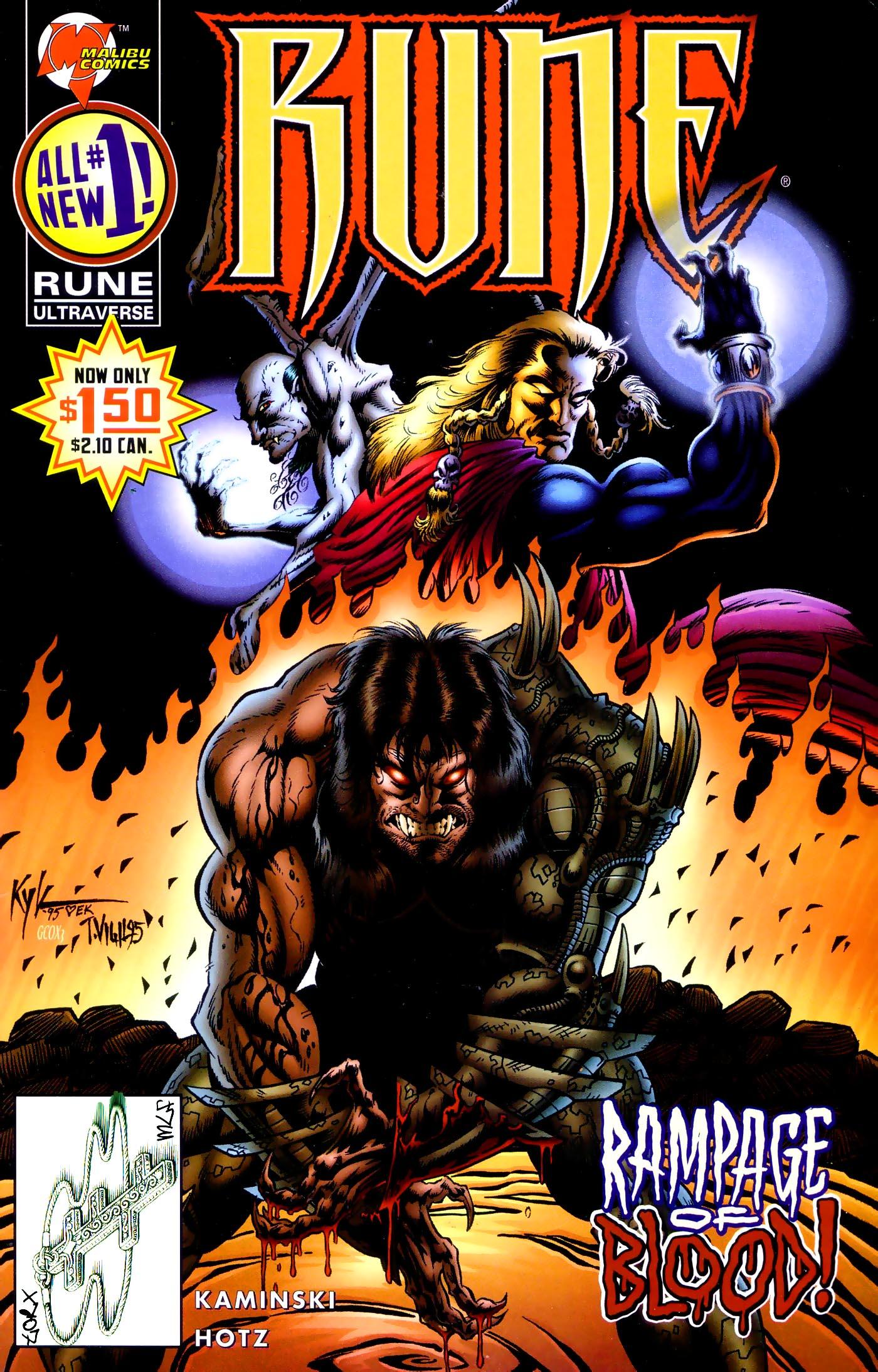 Read online Rune (1995) comic -  Issue #1 - 1