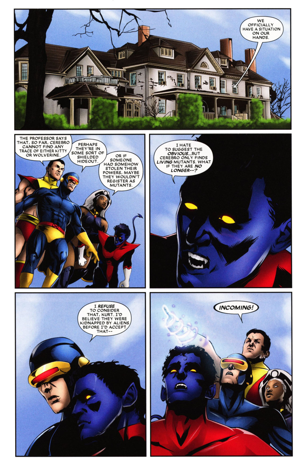 Read online Wolverine: First Class comic -  Issue #20 - 23