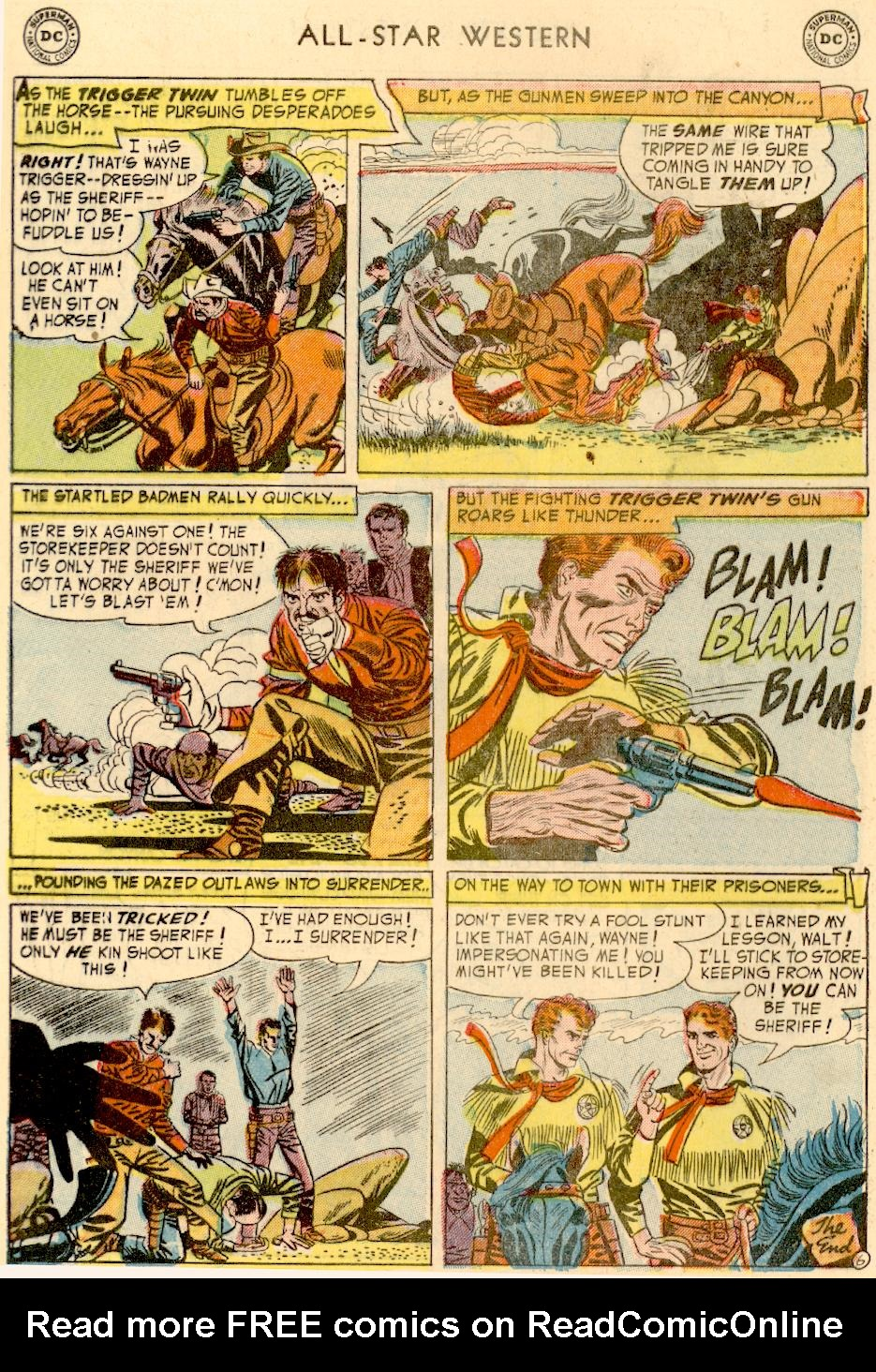Read online All-Star Western (1951) comic -  Issue #73 - 8