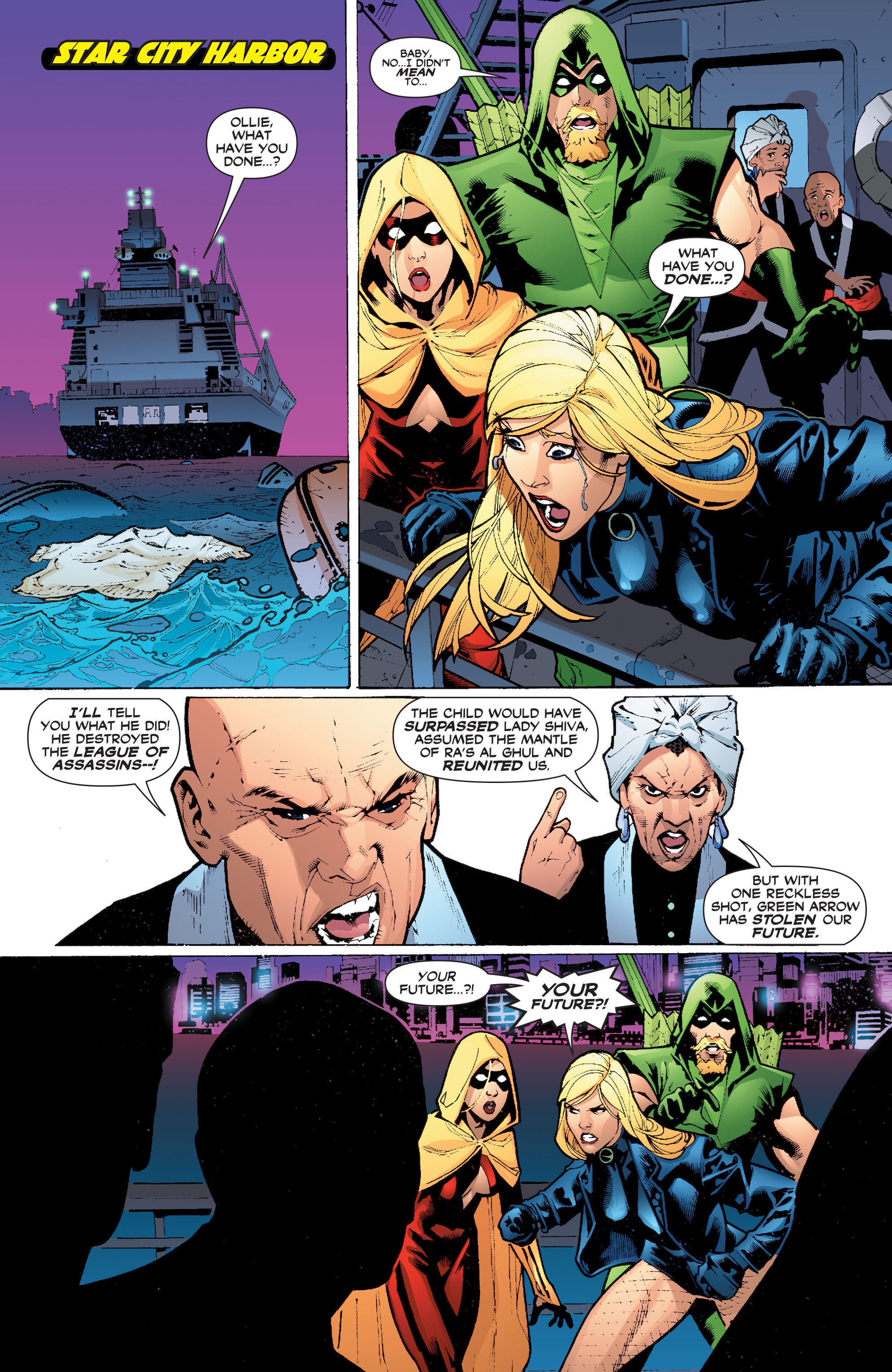 Read online Black Canary (2007) comic -  Issue #4 - 2