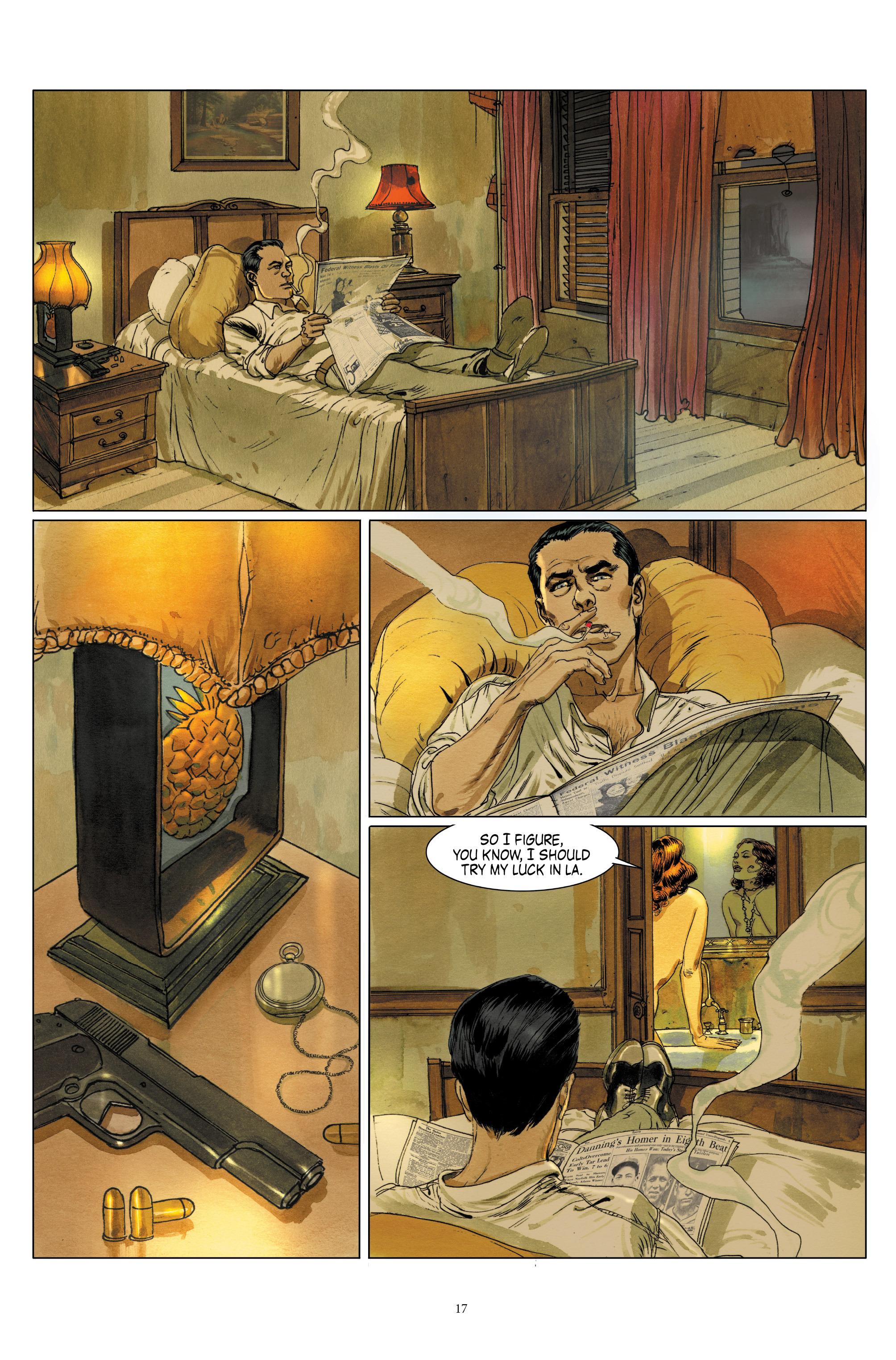 Read online Triggerman comic -  Issue #1 - 22