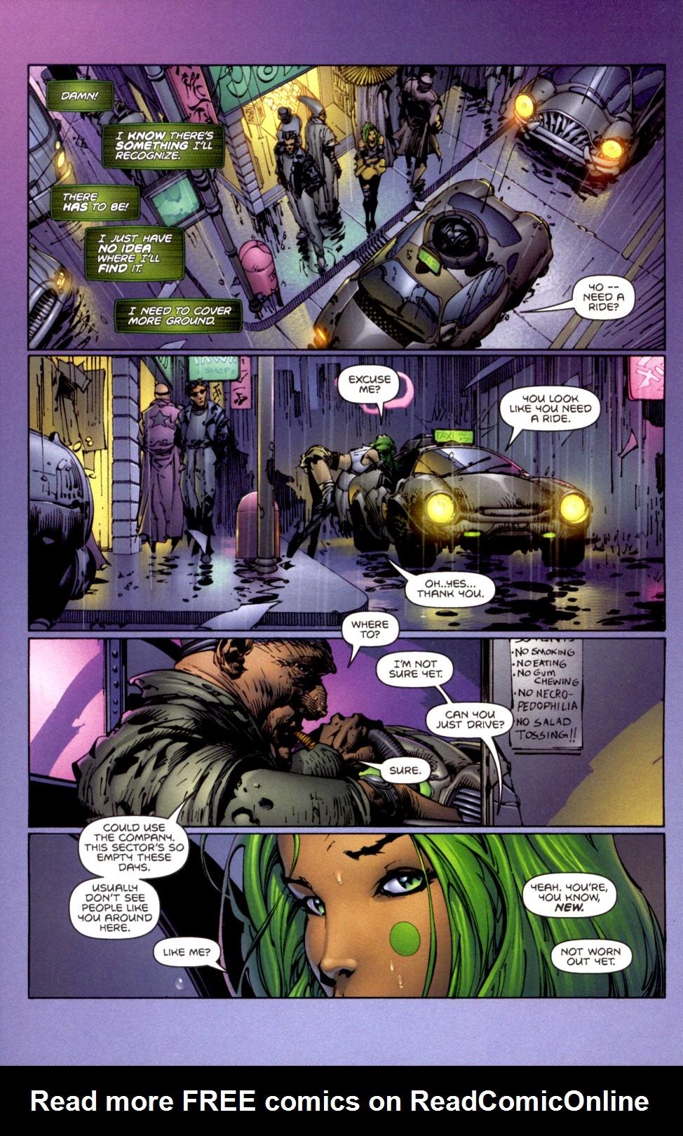Read online Aphrodite IX (2000) comic -  Issue #2 - 16