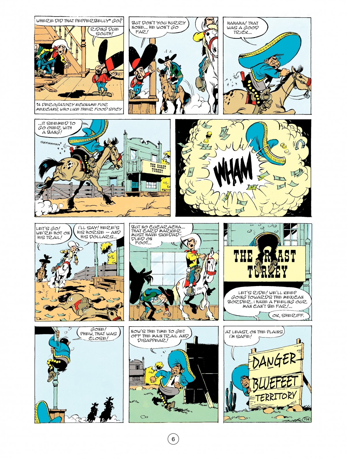 Read online A Lucky Luke Adventure comic -  Issue #43 - 6