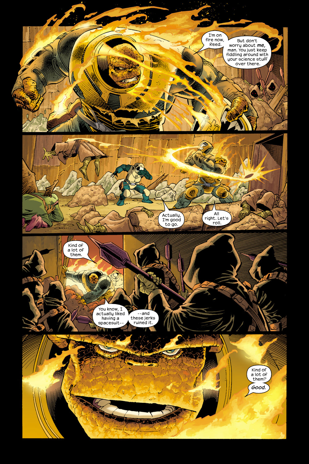 Read online Ultimate Fantastic Four (2004) comic -  Issue #17 - 10