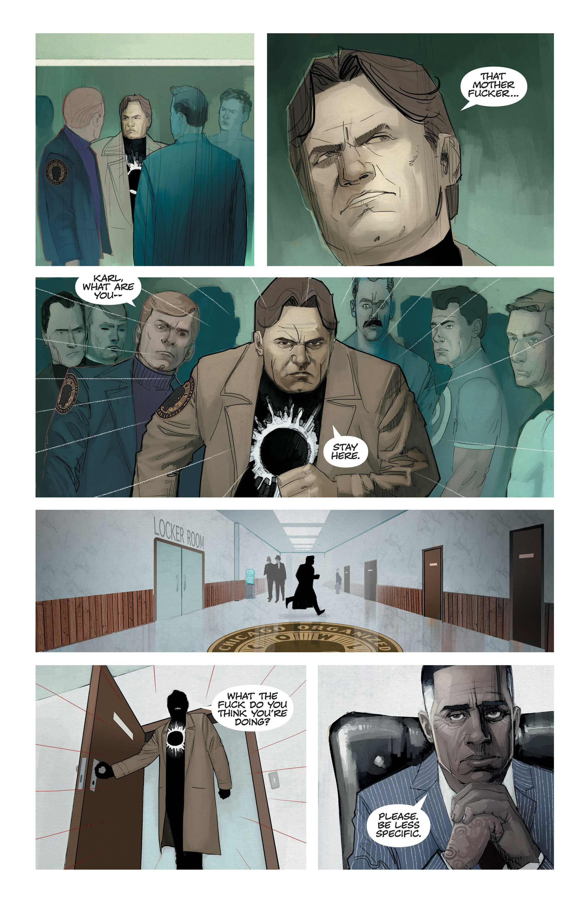 Read online C.O.W.L. comic -  Issue #11 - 10