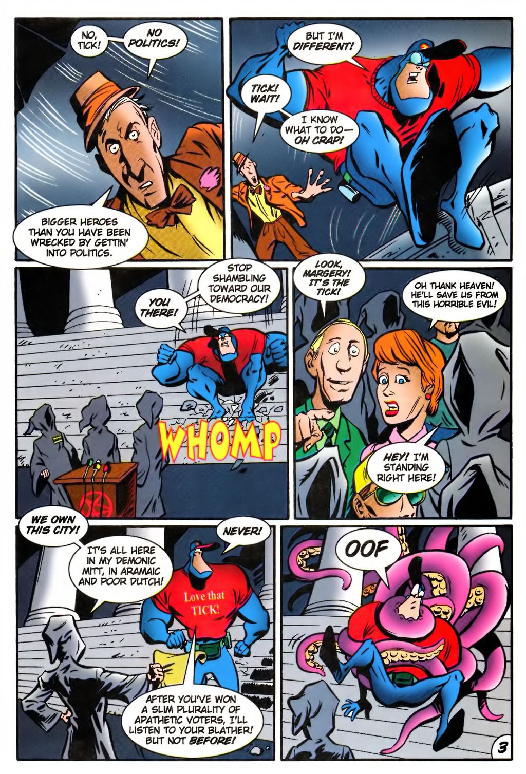 Read online The Tick: Days of Drama comic -  Issue #4 - 5