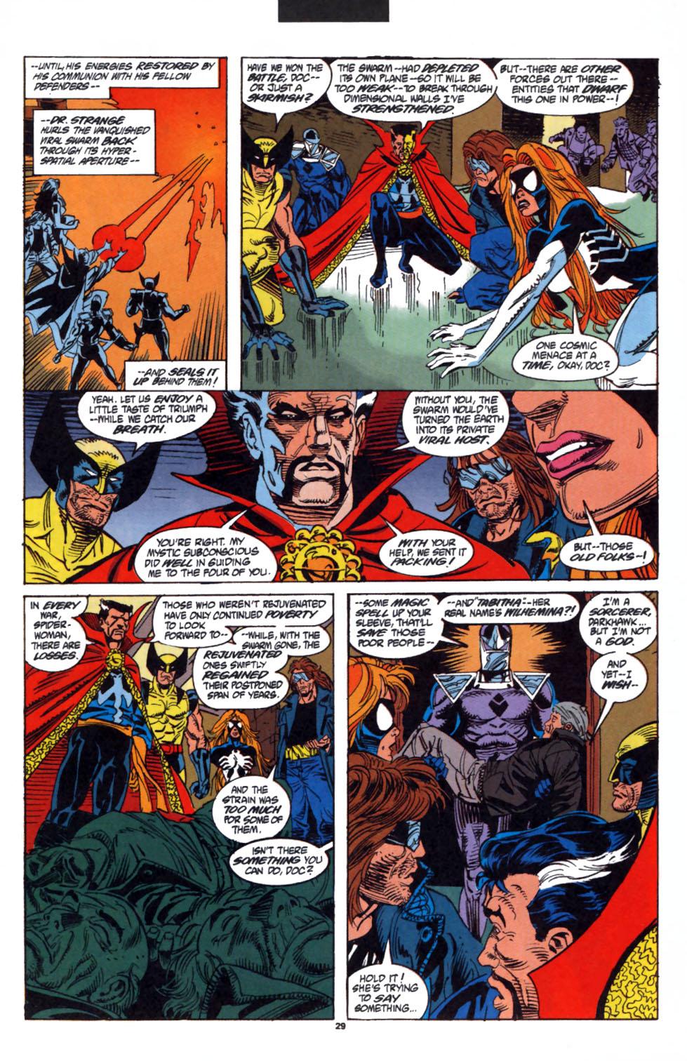 Read online Secret Defenders comic -  Issue #3 - 22
