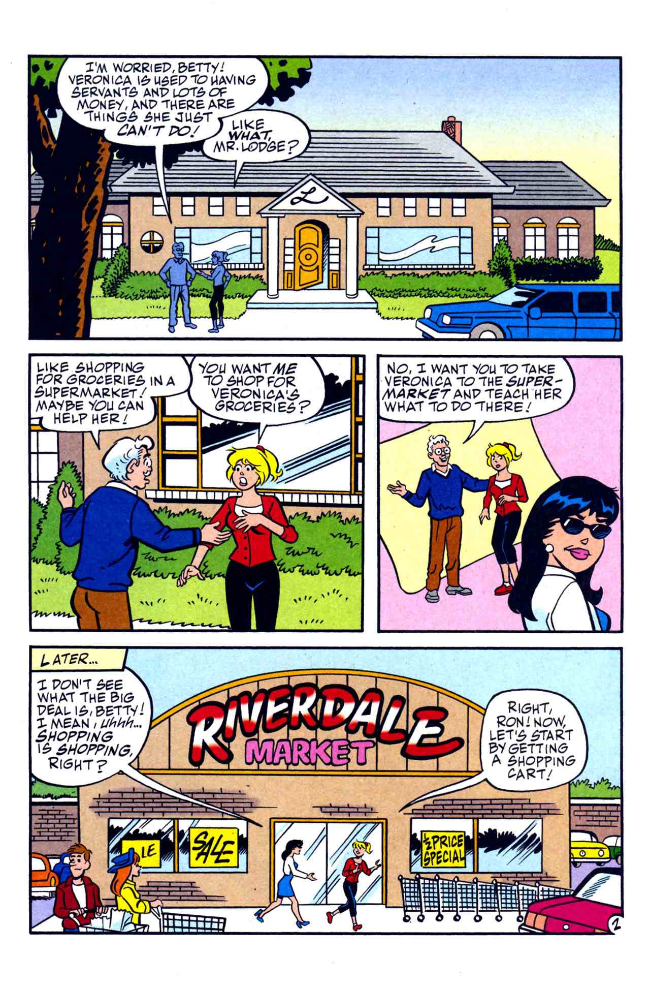 Read online Archie's Girls Betty and Veronica comic -  Issue #230 - 14