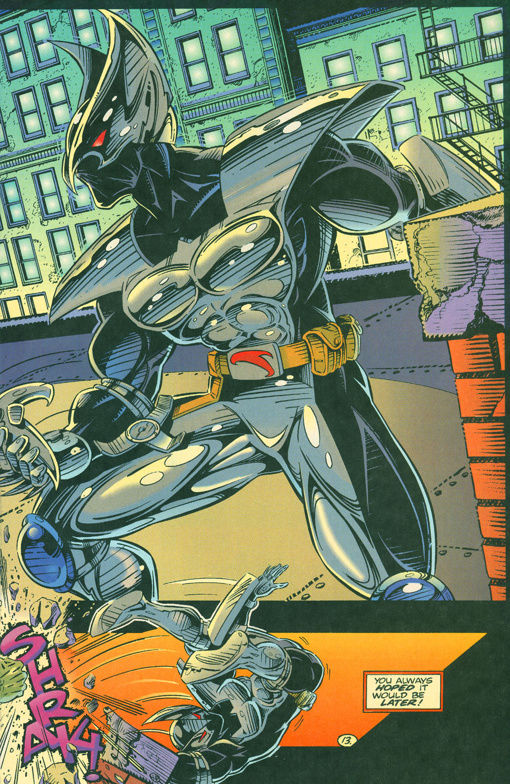 Read online ShadowHawk comic -  Issue #4 - 17