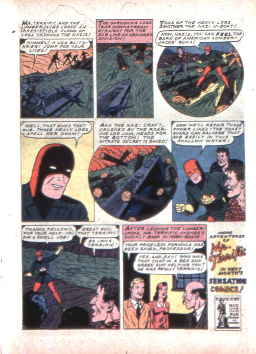 Read online Sensation (Mystery) Comics comic -  Issue #11 - 31